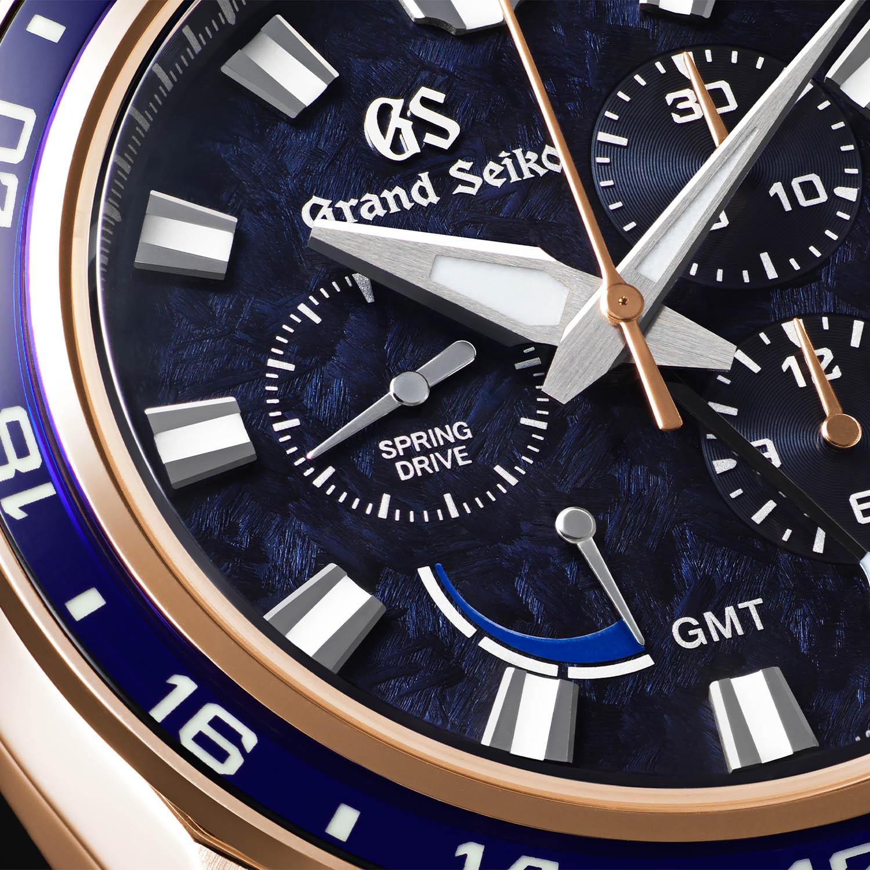 Grand Seiko Sport Spring Drive Chronograph GMT 60th Anniversary Limited Edition SBGC238
