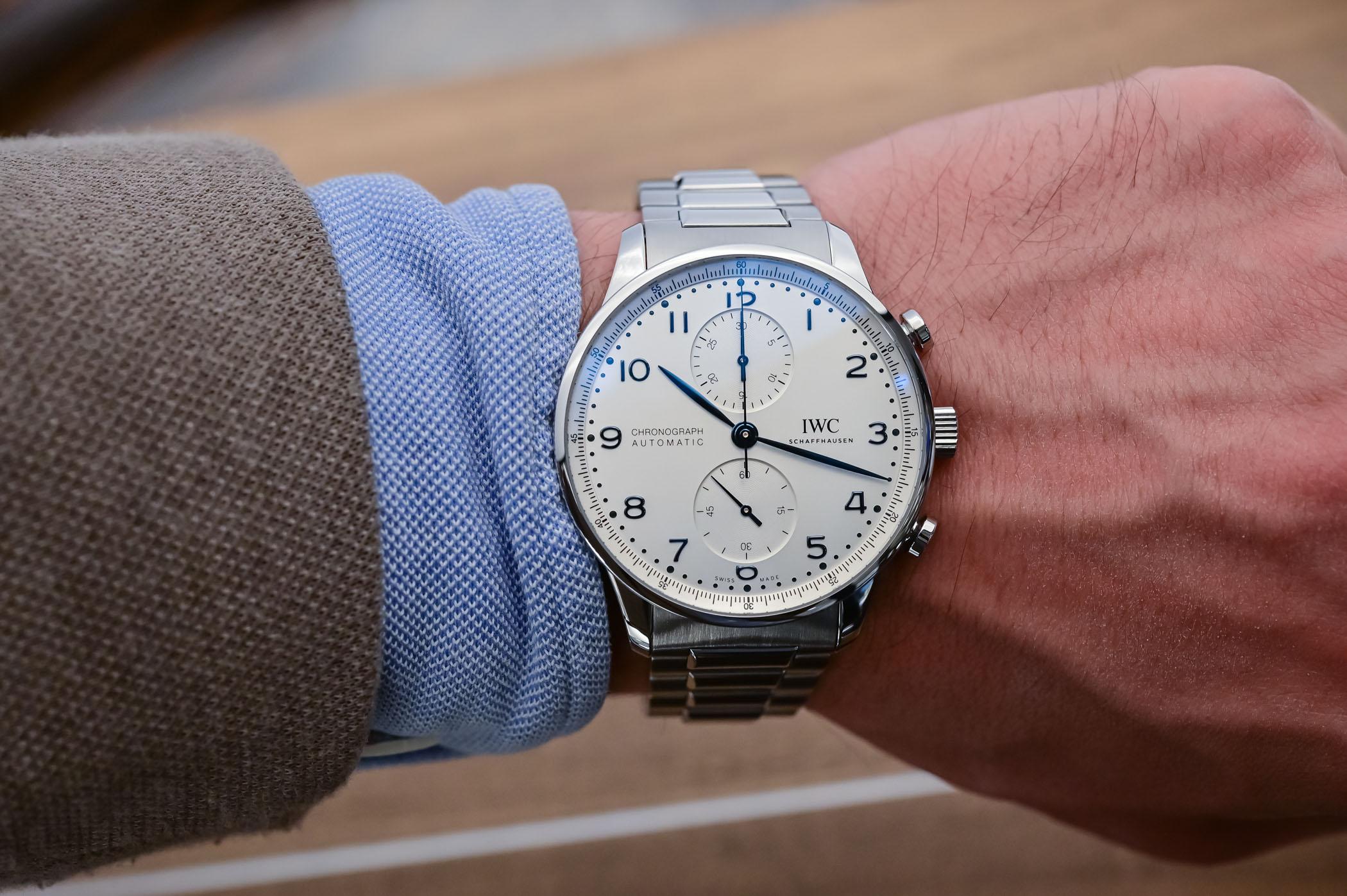 IWC Portugieser Chronograph 3716 Steel Bracelet IW371617 - 2
