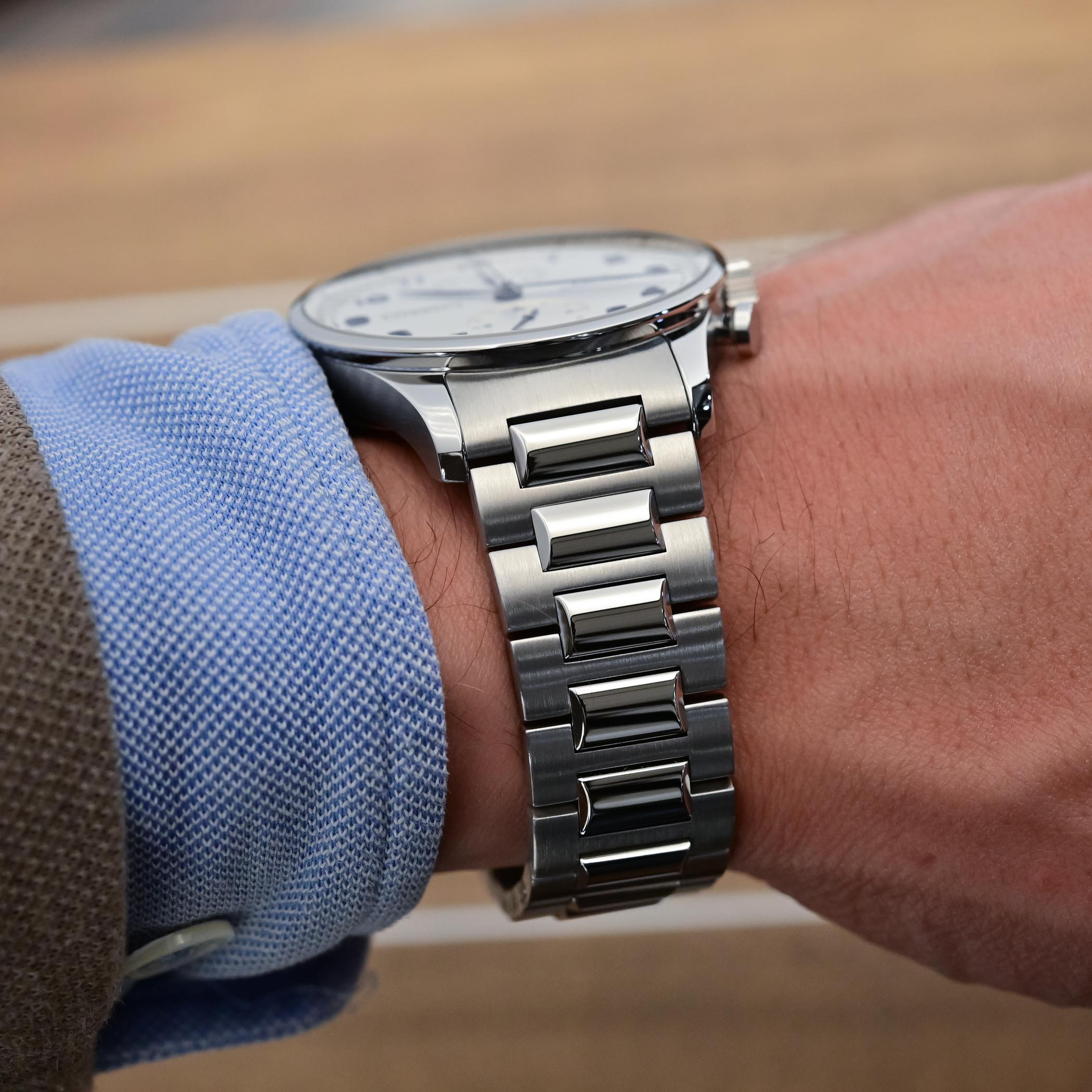 IWC Portugieser Chronograph 3716 Steel Bracelet IW371617 - 3