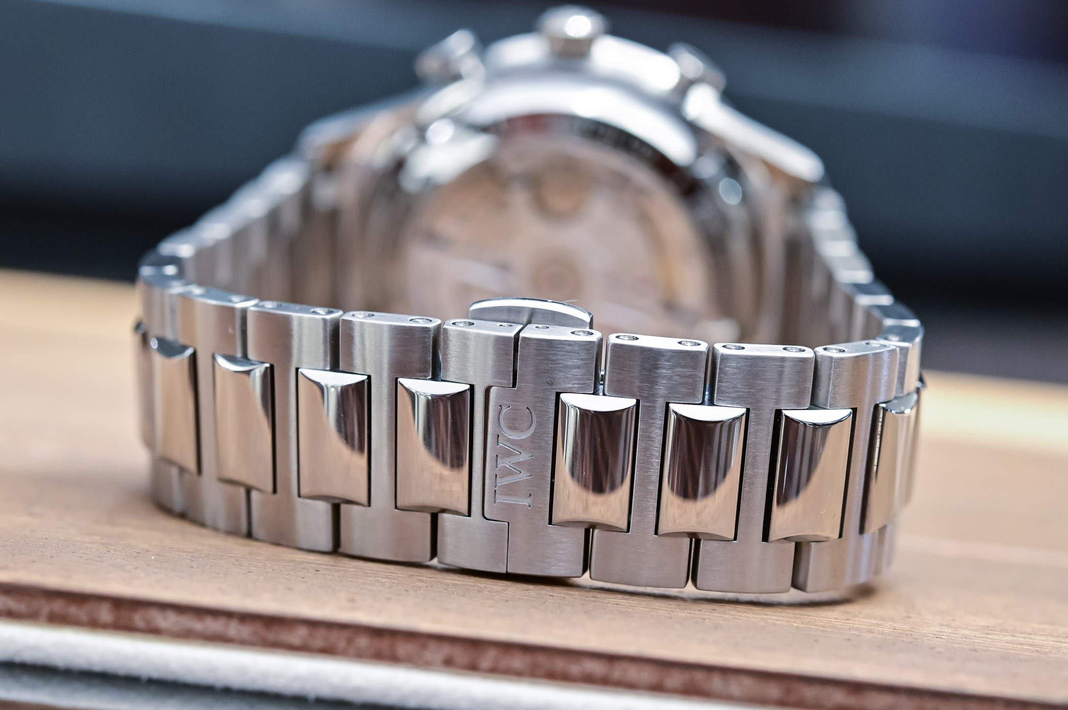 IWC Portugieser Chronograph 3716 Steel Bracelet IW371617 - 4
