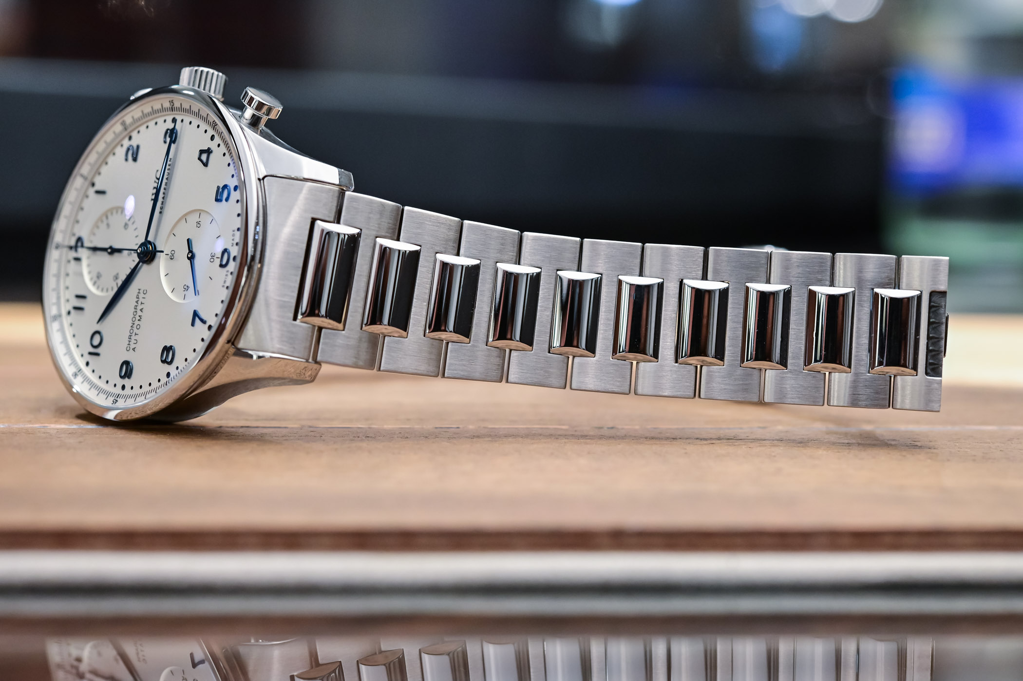 IWC Portugieser Chronograph 3716 Steel Bracelet IW371617 - 6