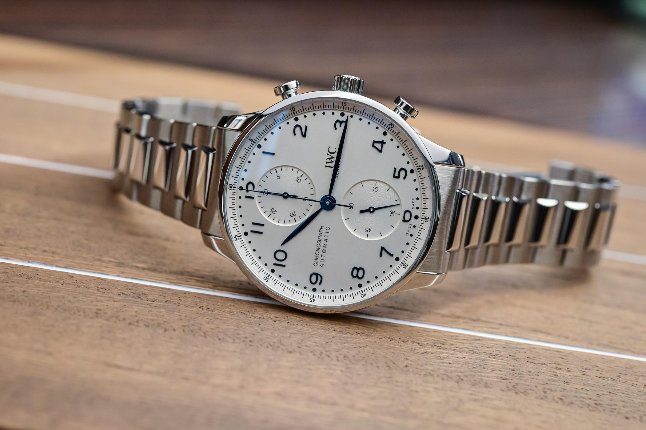 IWC Portugieser Chronograph 3716 Steel Bracelet IW371617 - 7