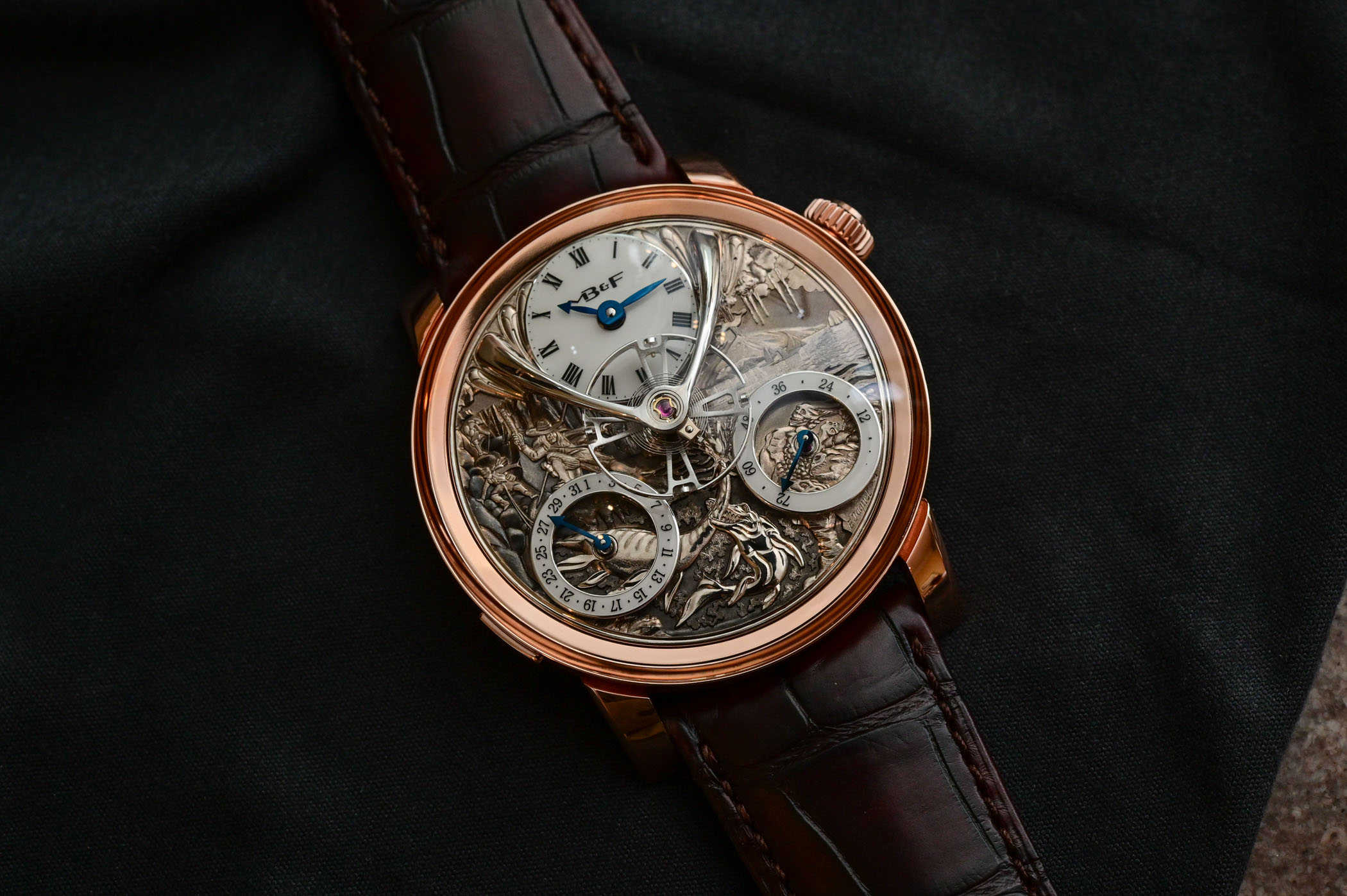 MB&F LM Split Escapement Eddy Jaquet