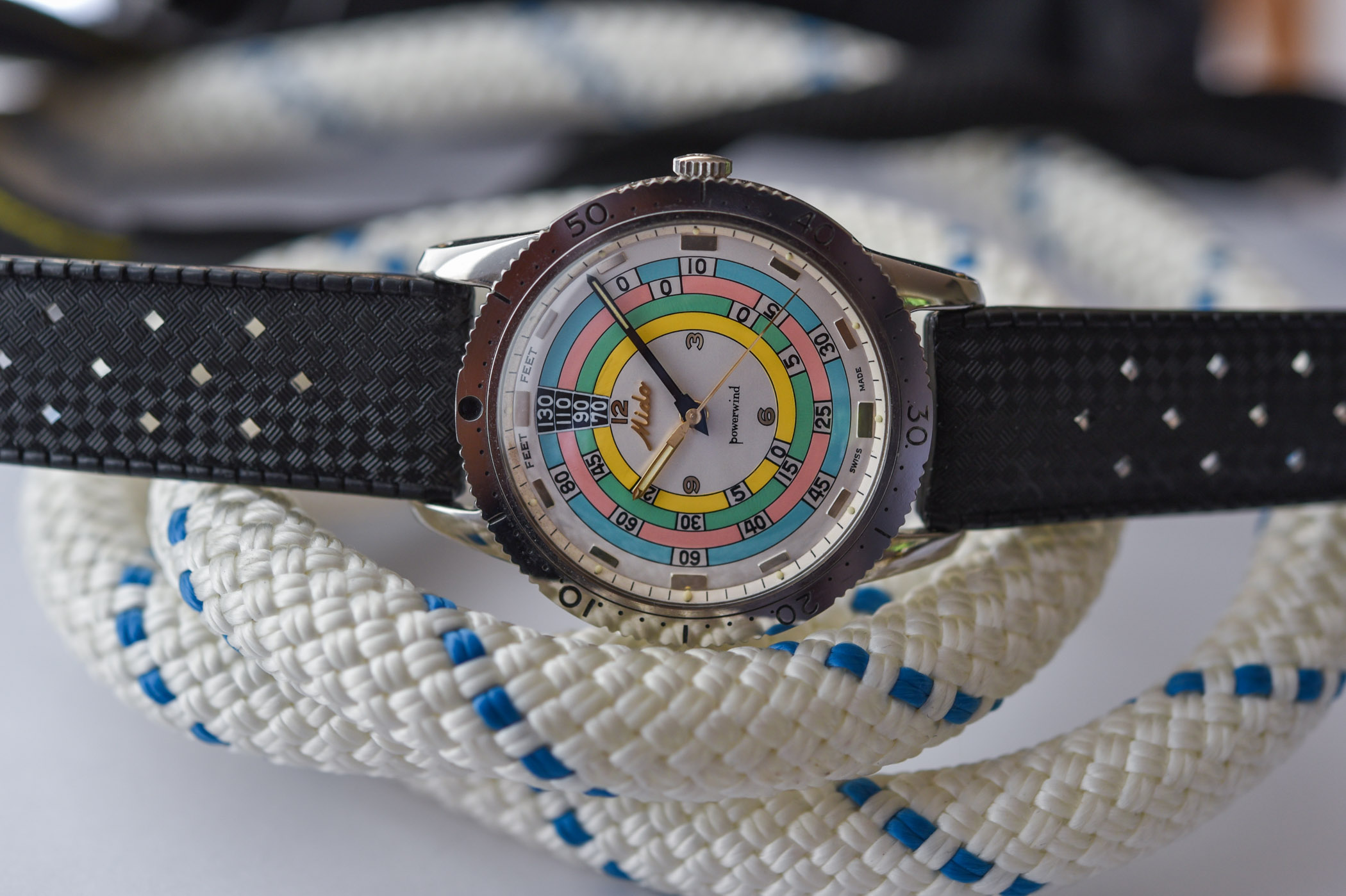 Mido Ocean Star Decompression Timer 1961 Limited Edition Rainbow Diver