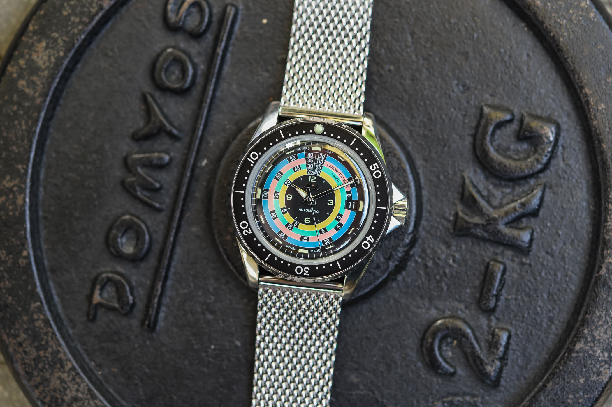 Mido Ocean Star Decompression Timer 1961 Limited Edition Rainbow Diver