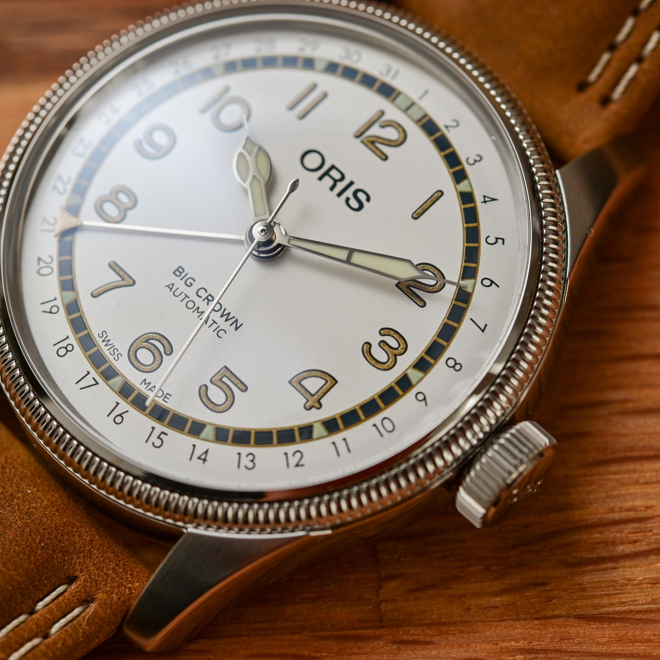 Oris Roberto Clemente Limited Edition Big Crown Pointer Date