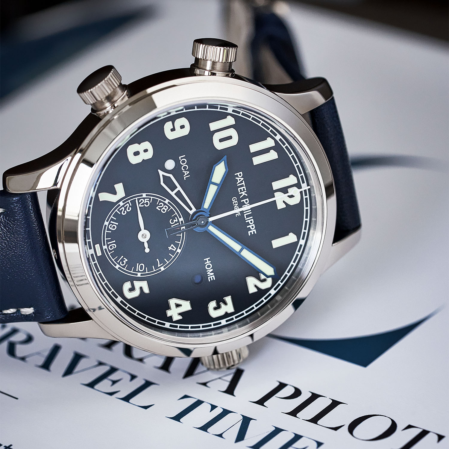 Patek Philippe Calatrava Pilot Travel Time 7234G-001