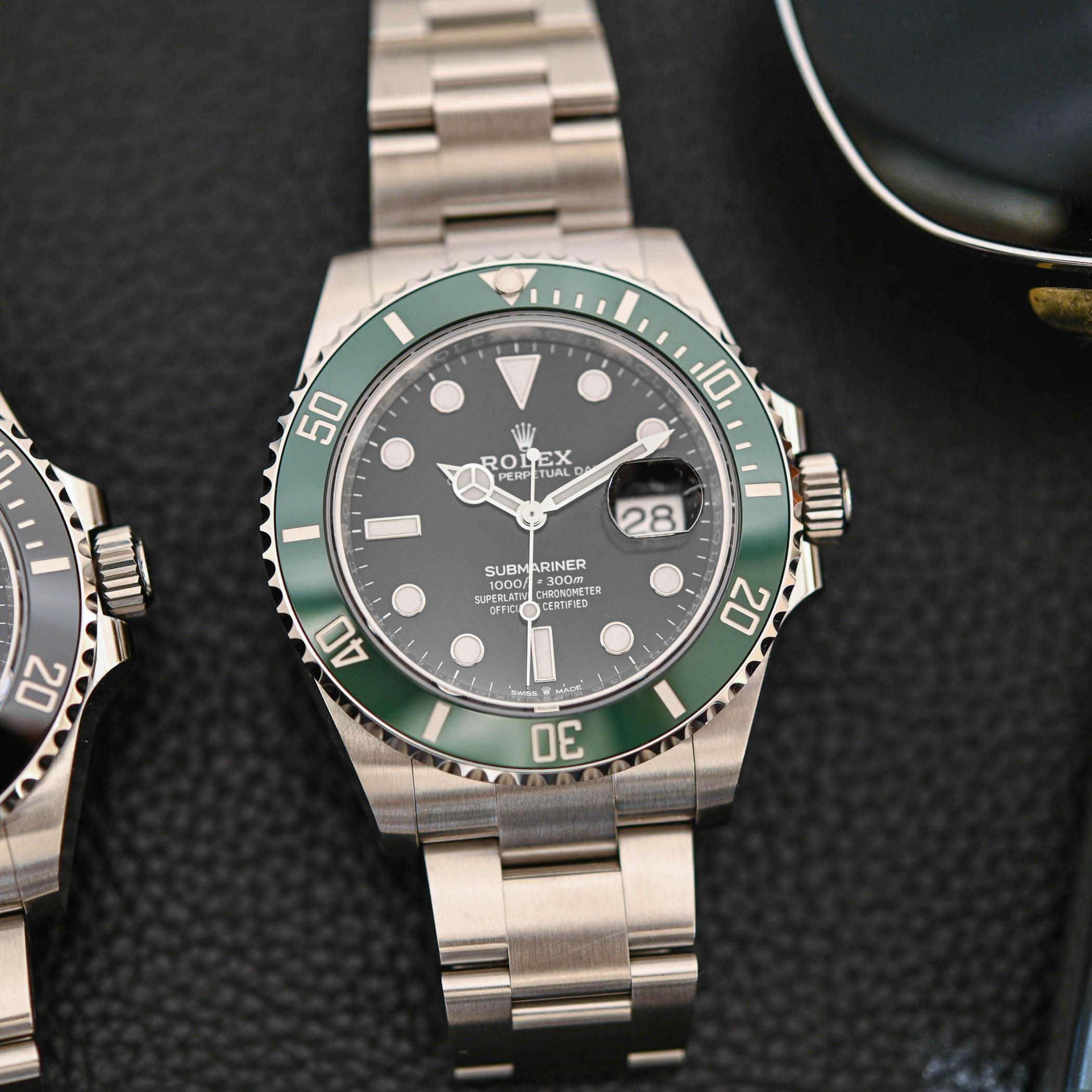 Rolex Submariner Date 41mm Kermit 126610LV and Black 126610LN - 7
