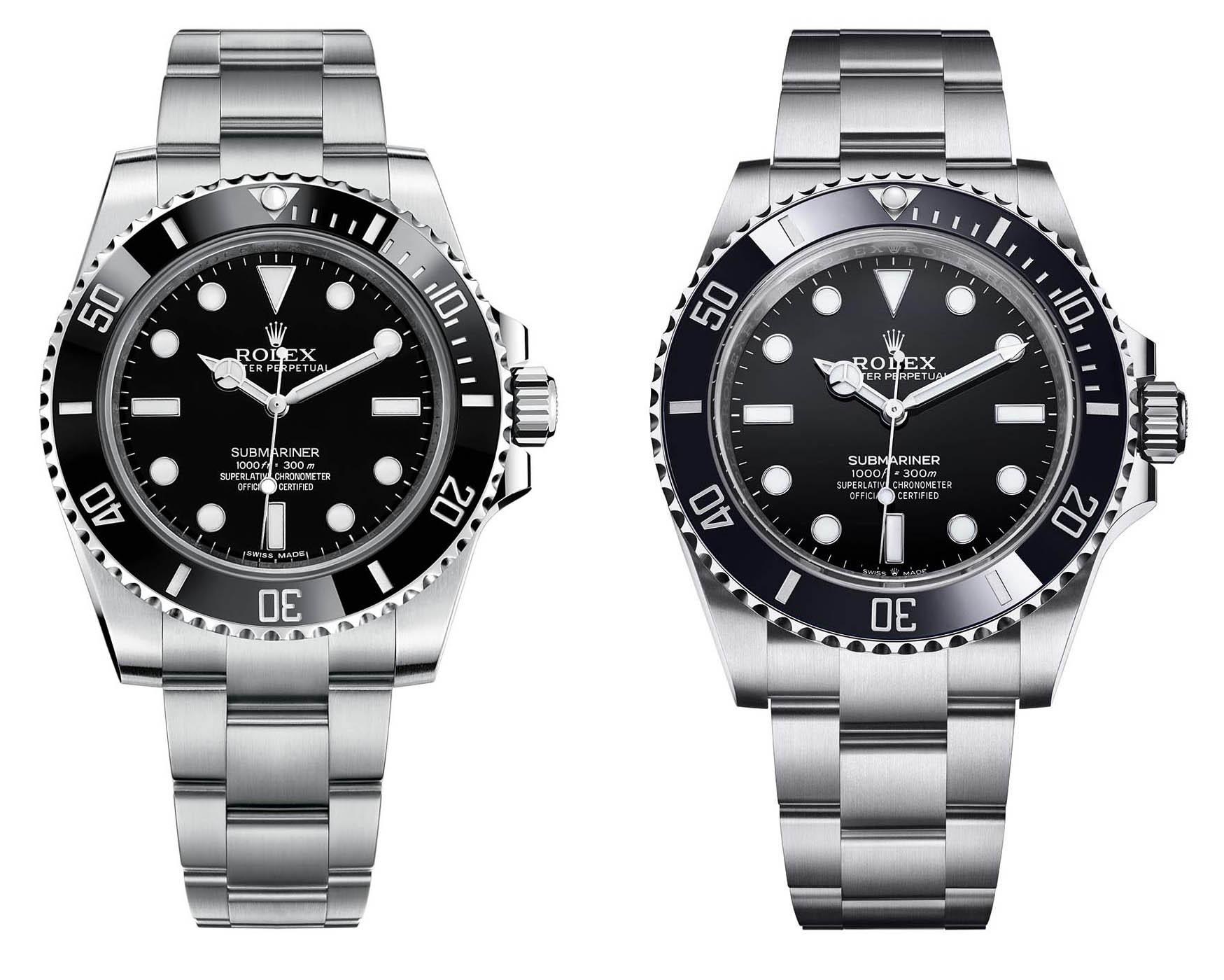 Rolex Submariner 124060 vs 114060
