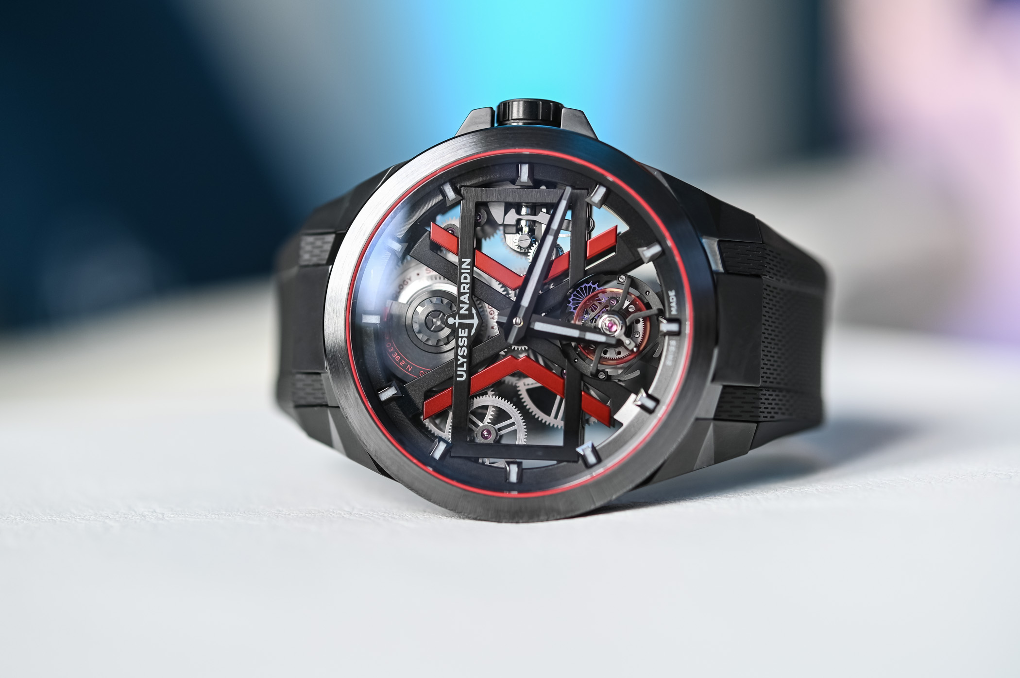 Ulysse Nardin Blast Tourbillon video Geneva Watch Days 2020