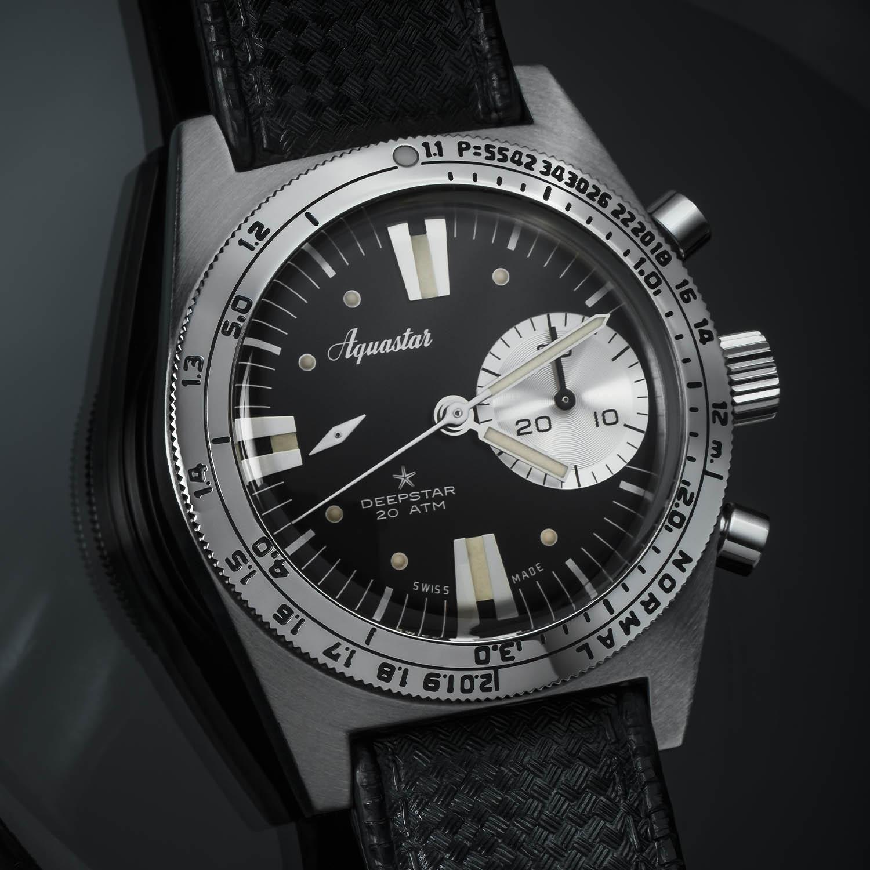 2020 Aquastar Deepstar Re-Edition Dive Chronograph