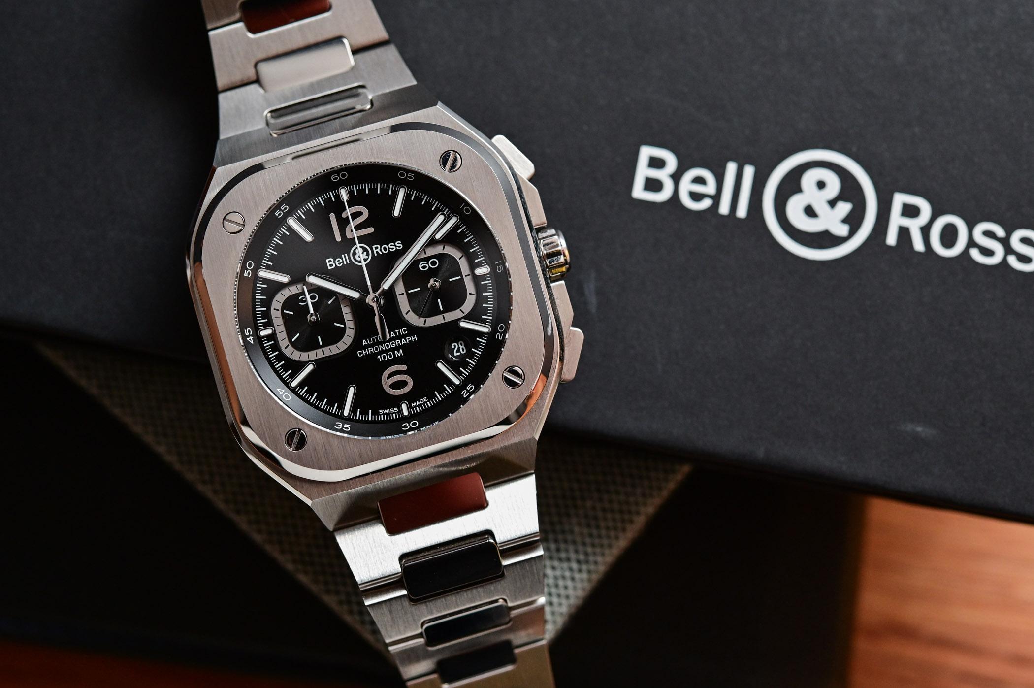 Bell & Ross BR 05 Chrono Black Steel