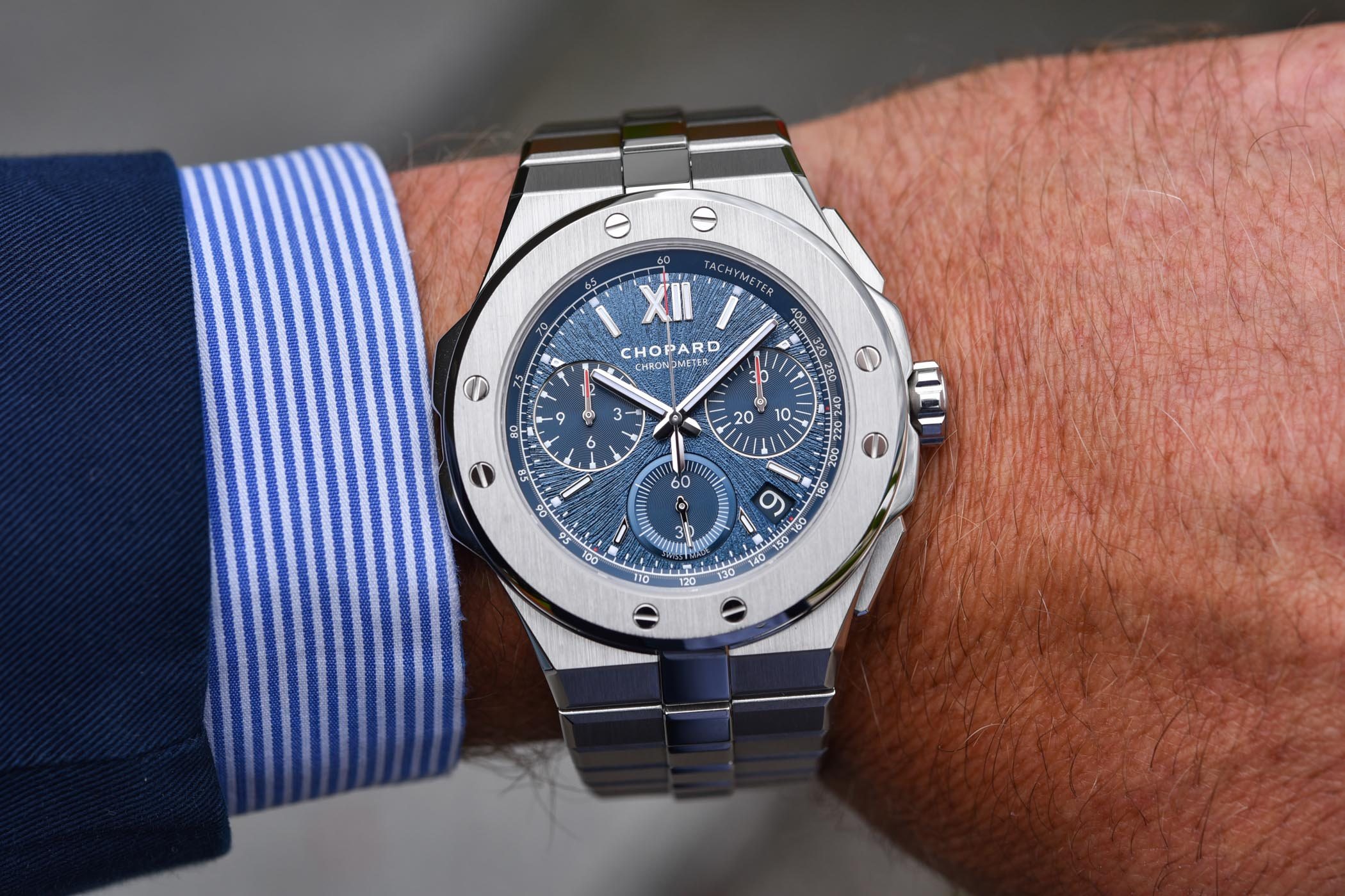 Chopard Alpine Eagle XL Chrono Lucent Steel
