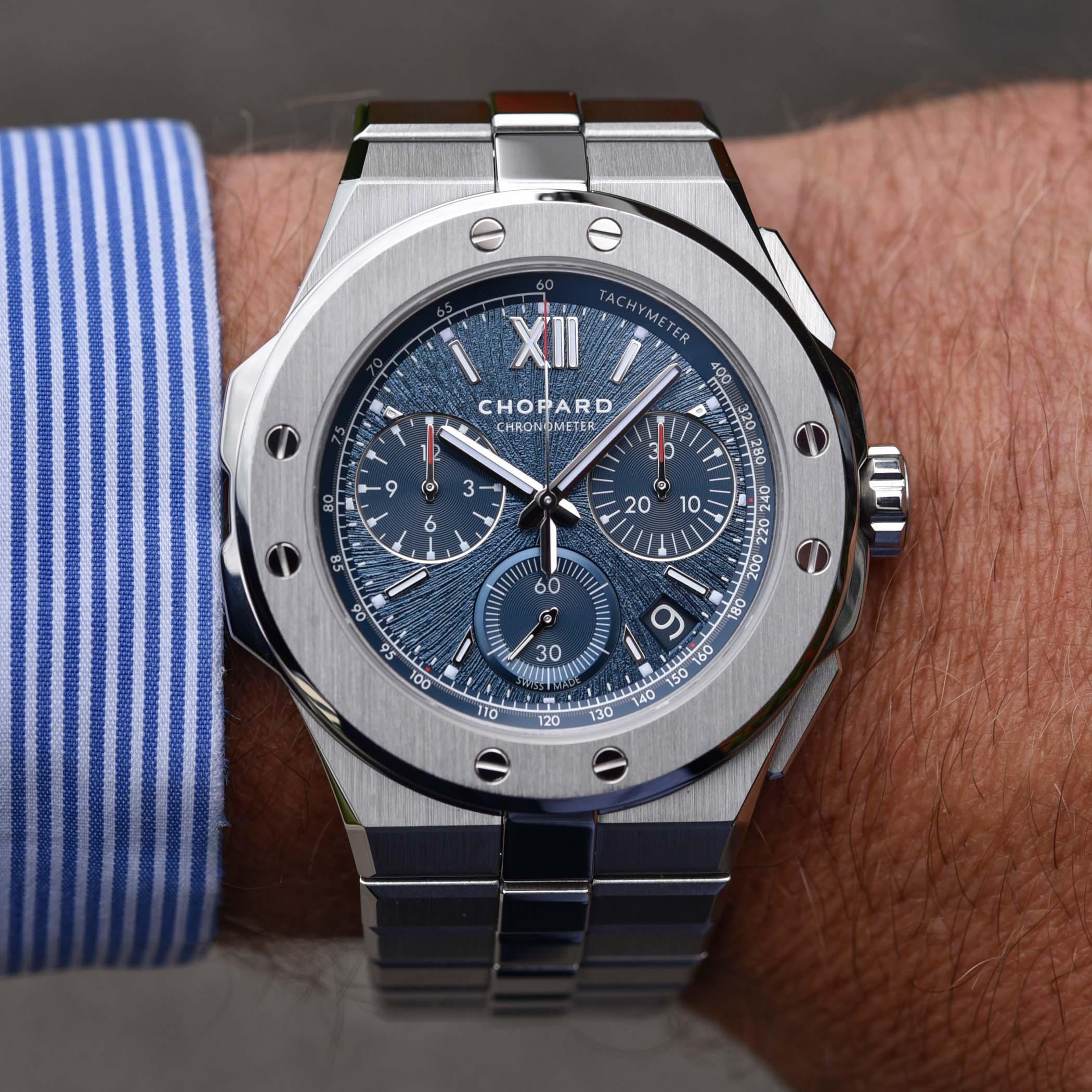 Chopard Alpine Eagle XL Chrono Lucent Steel