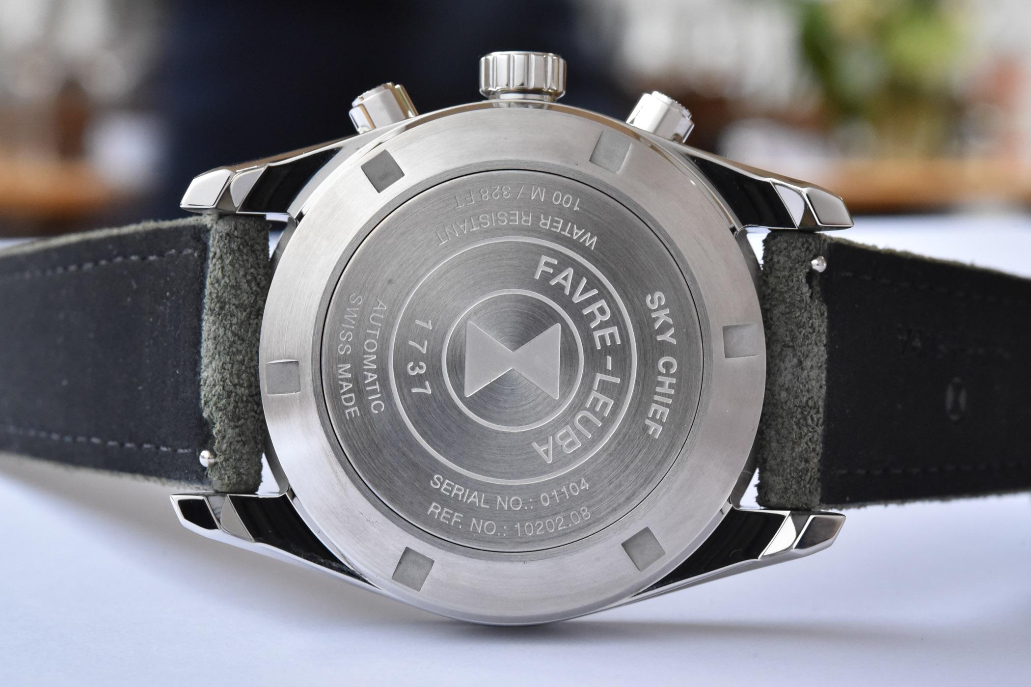 Favre-Leuba Sky Chief Chronograph 43mm Collection 2020 - 3