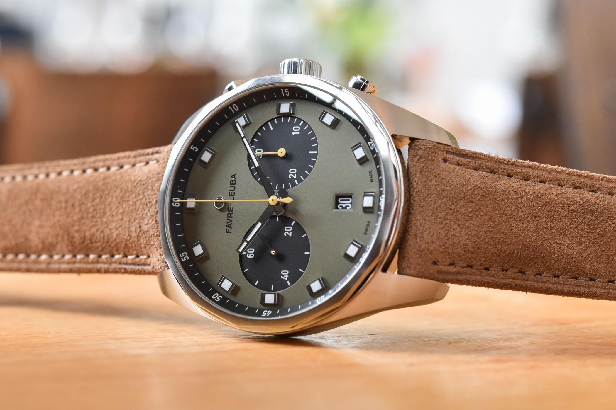 Favre-Leuba Sky Chief Chronograph 43mm Collection 2020 - 7