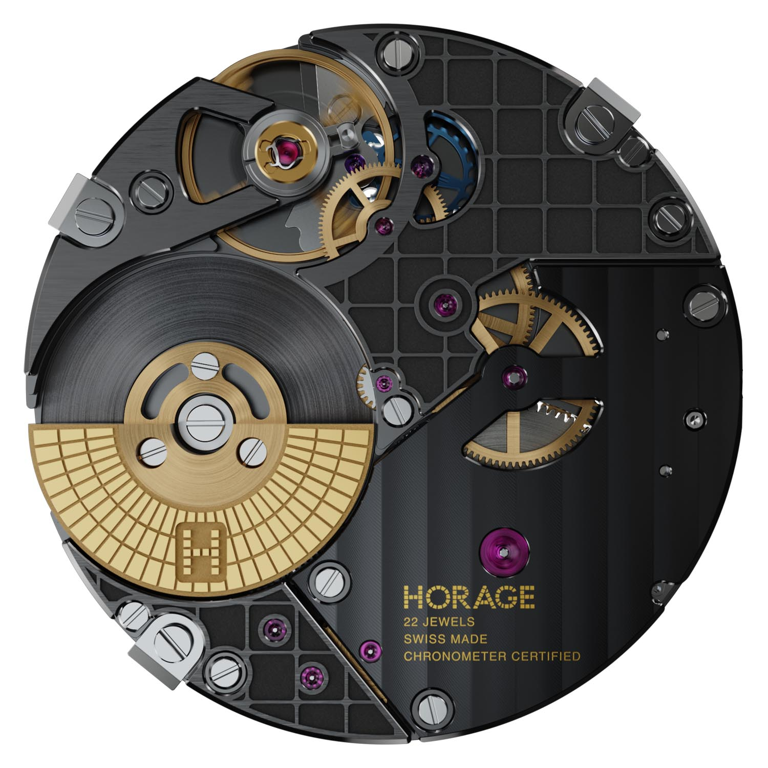 Horage K2 Micro-Rotor Movement