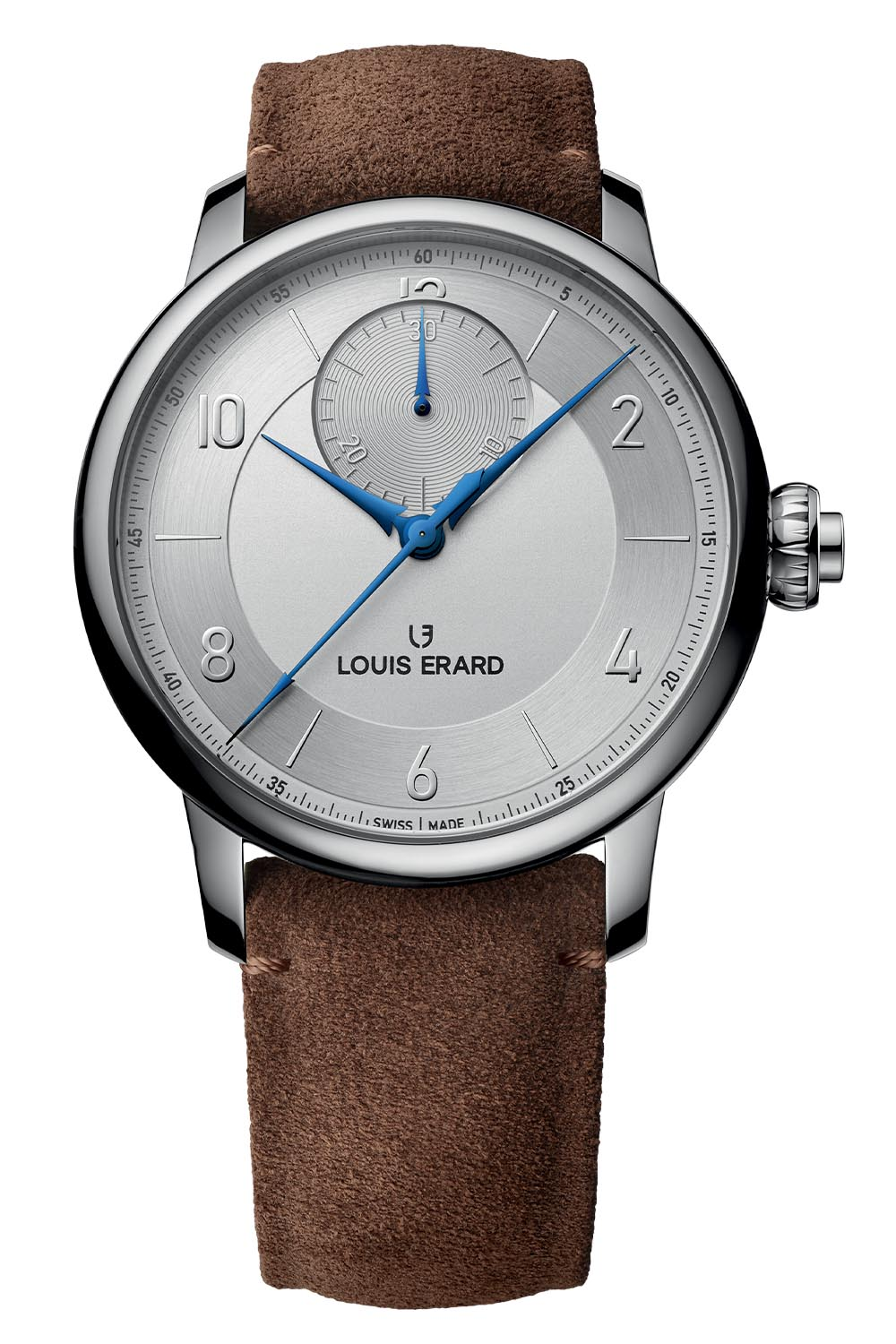 Louis Erard Excellence Triptych - Regulator - Small Seconds - Chrono Monopusher