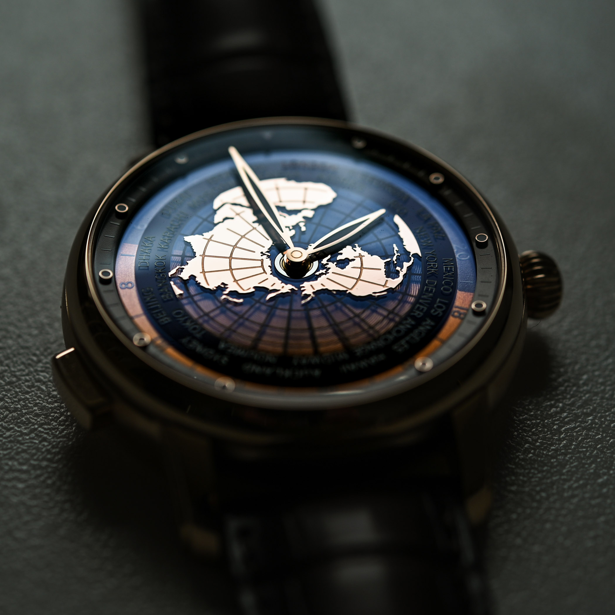 Montblanc Star Legacy Orbis Terrarum Rose Gold Limited Edition