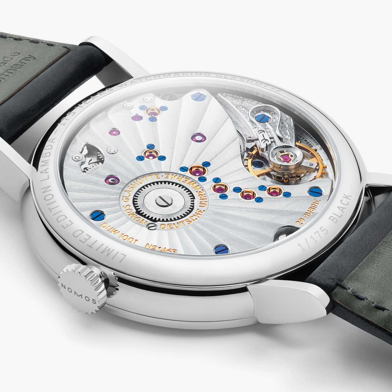 Nomos Lambda 175 Years Watchmaking in Glashutte movement