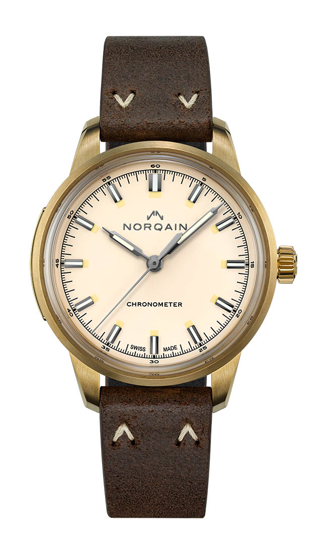 Norqain Freedom 60 three-hand 39mm