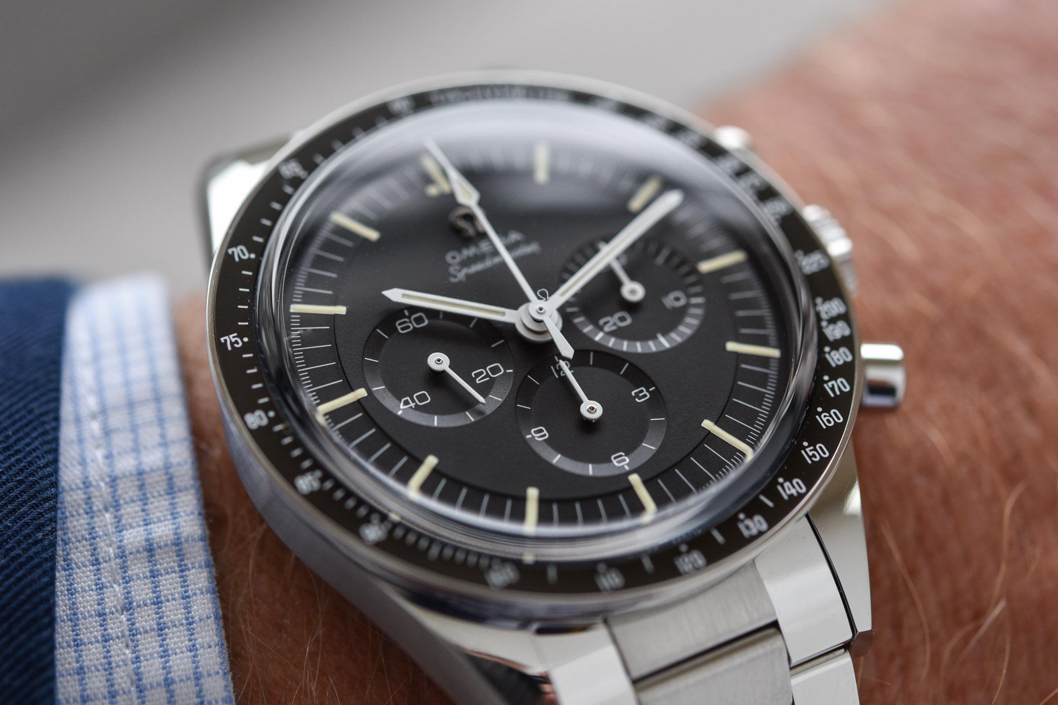 Omega Speedmaster Moonwatch Calibre 321 Ed White