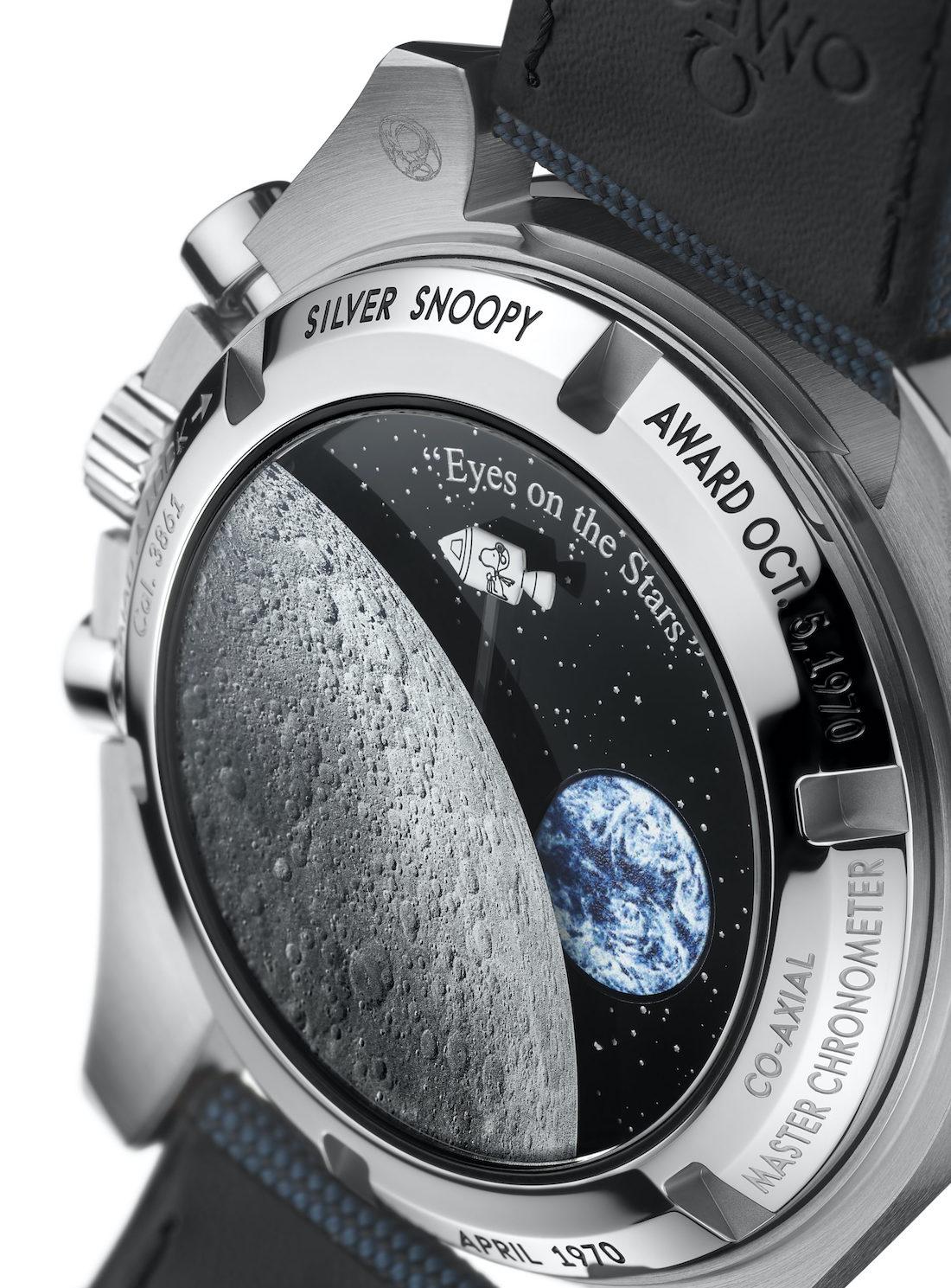 Omega Speedmaster Silver Snoopy Award 50th Anniversary 310.32.42.50.02.001 - 4