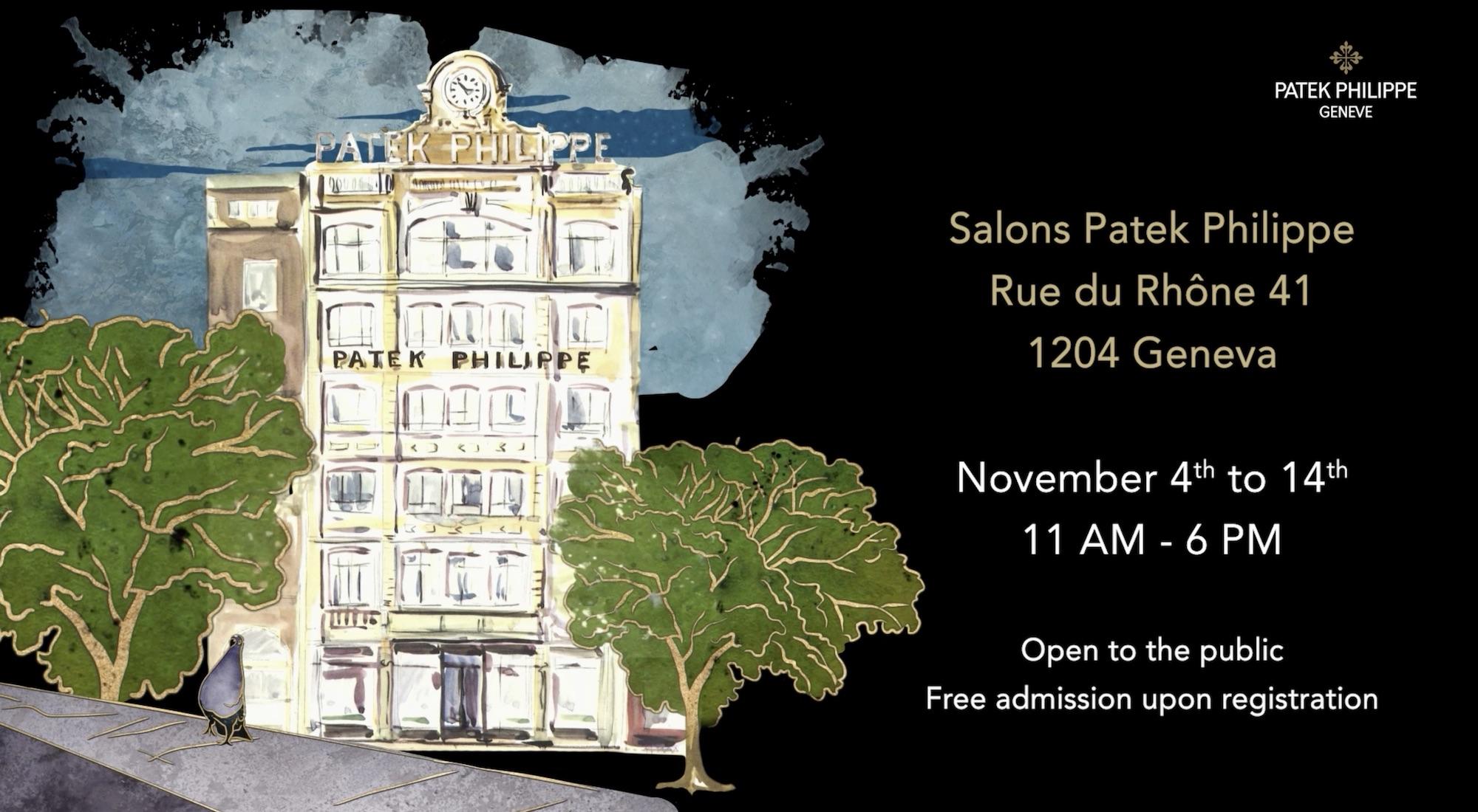 Patek Philippe Rare Handcrafts 2020 Exhibition in Geneva