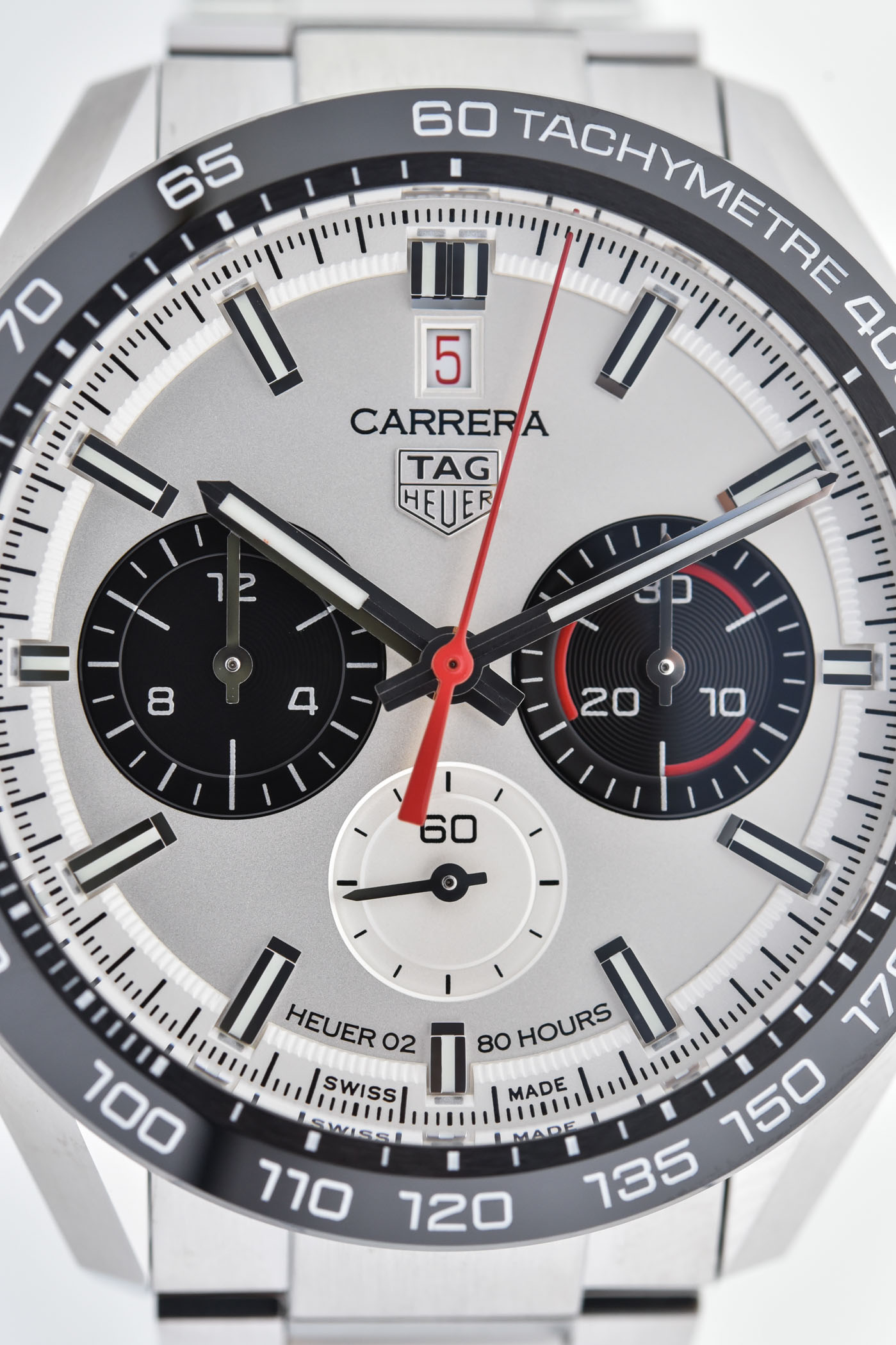 TAG Heuer Carrera Sport Chronograph 160 Years Special Edition DATO 12