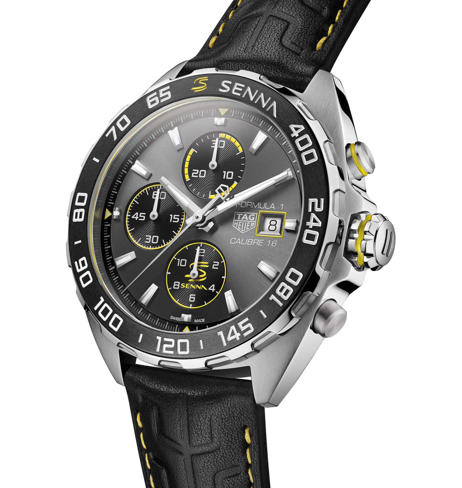 TAG Heuer Formula 1 Senna Special Edition 2020 automatic chronograph