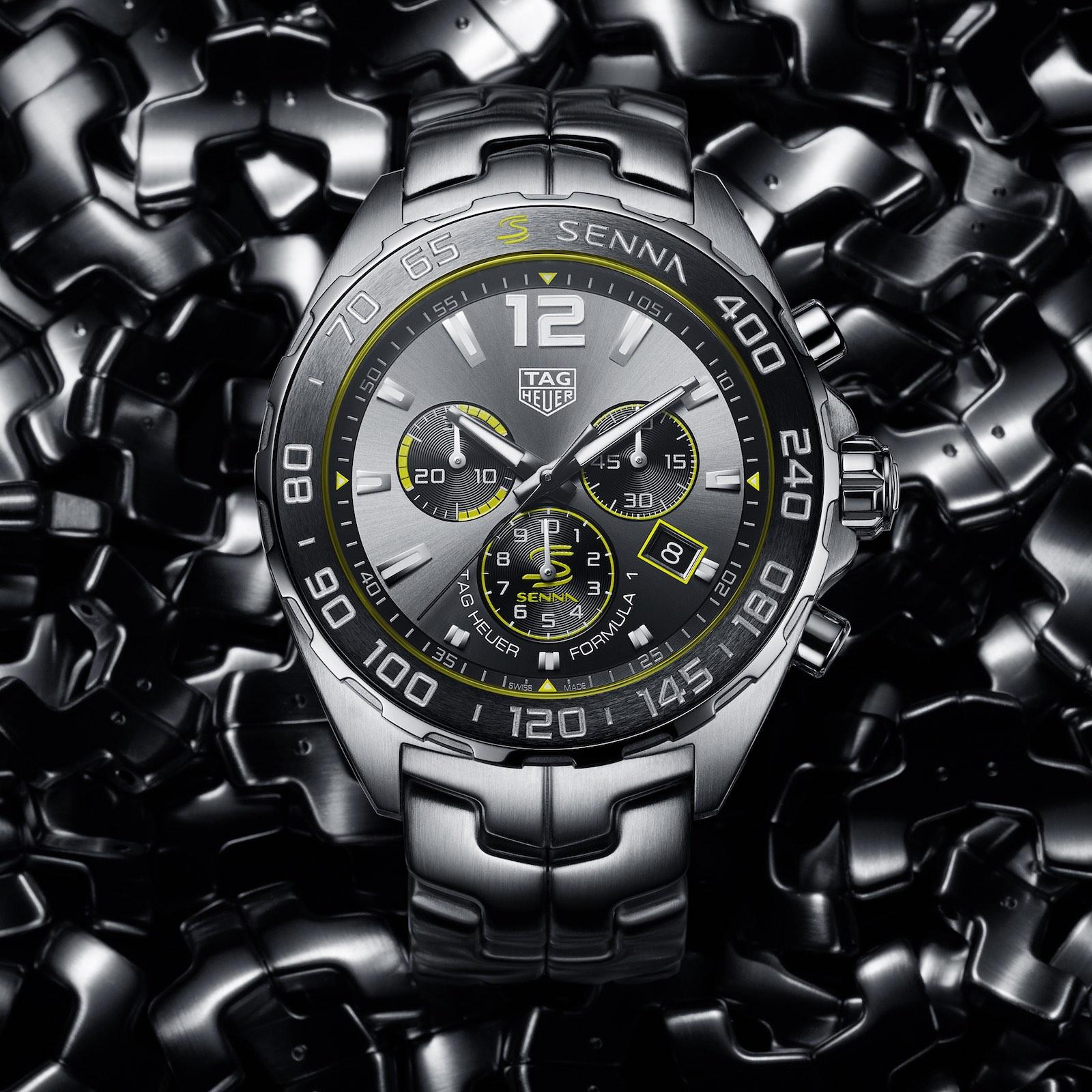 TAG Heuer Formula 1 Senna Special Edition 2020 quartz chronograph
