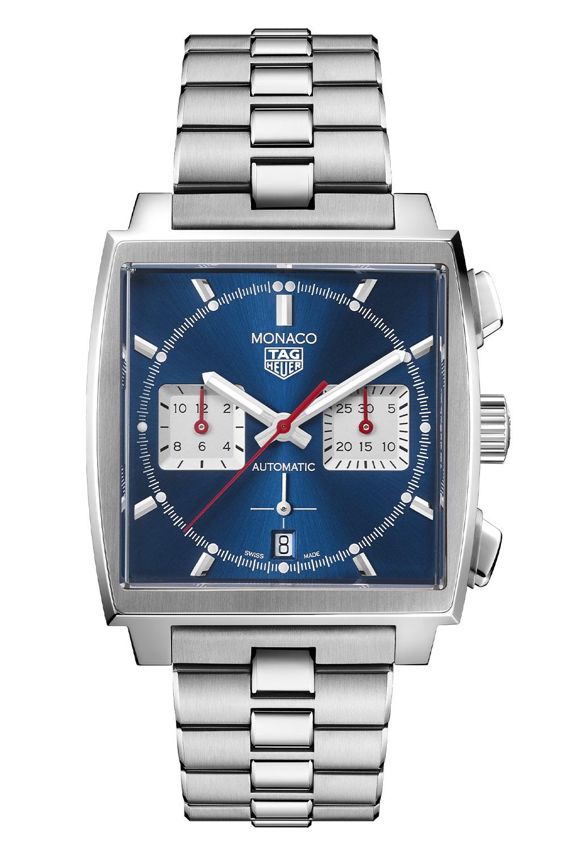 TAG Heuer Monaco Calibre Heuer 02 Black Steel bracelet - CBL2111.BA0644