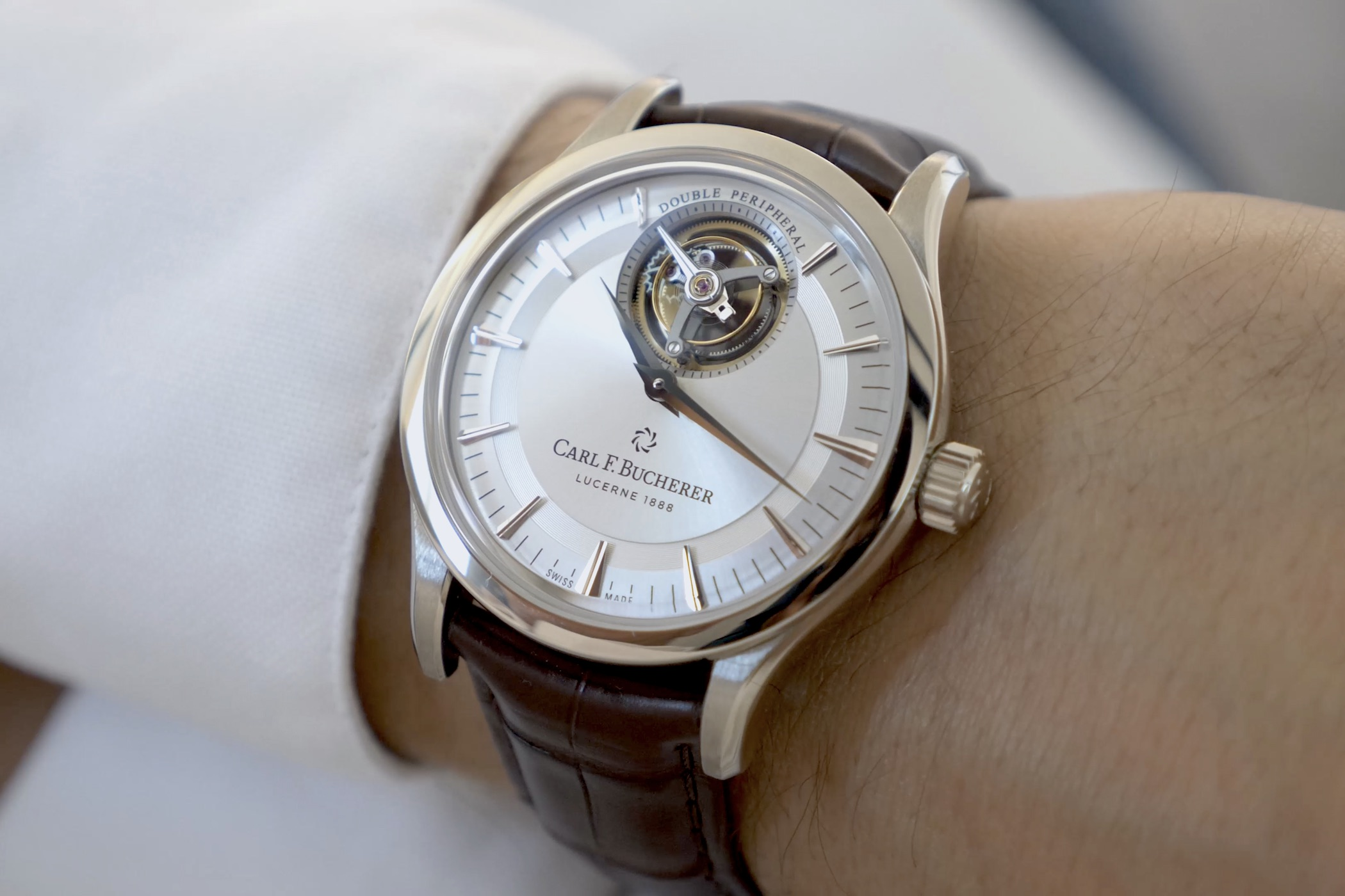 Video new watches 2020 Carl F. Bucherer