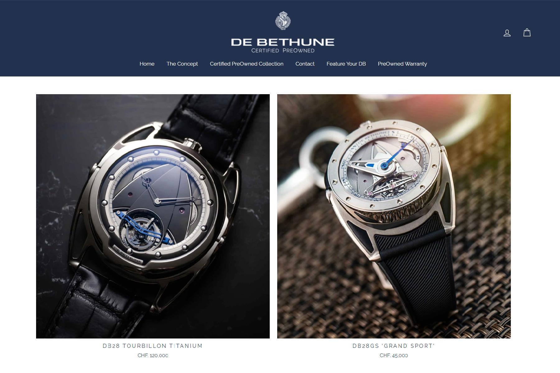 Debthune Pre-Owned second hand luxury