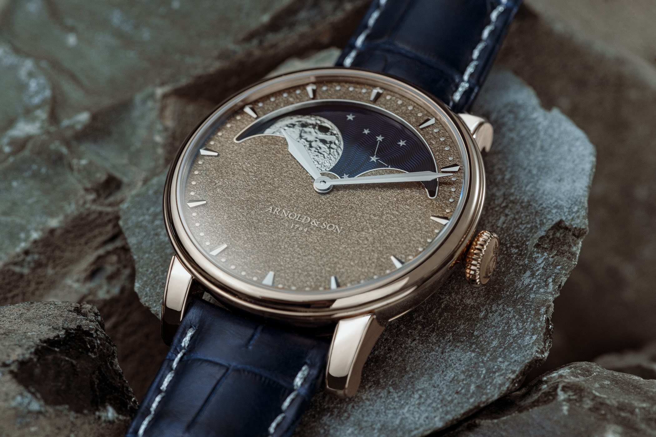 Introducing - Arnold & Son Perpetual Moon Obsidian (Specs & Price)