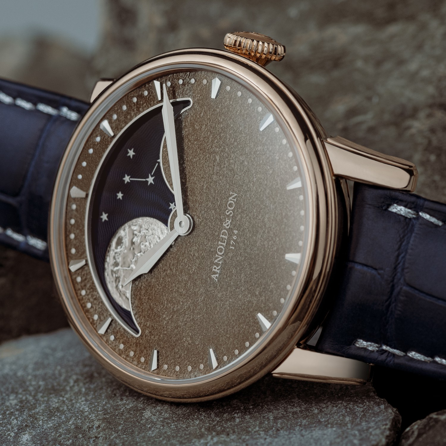 Arnold & Son Perpetual Moon Obsidian