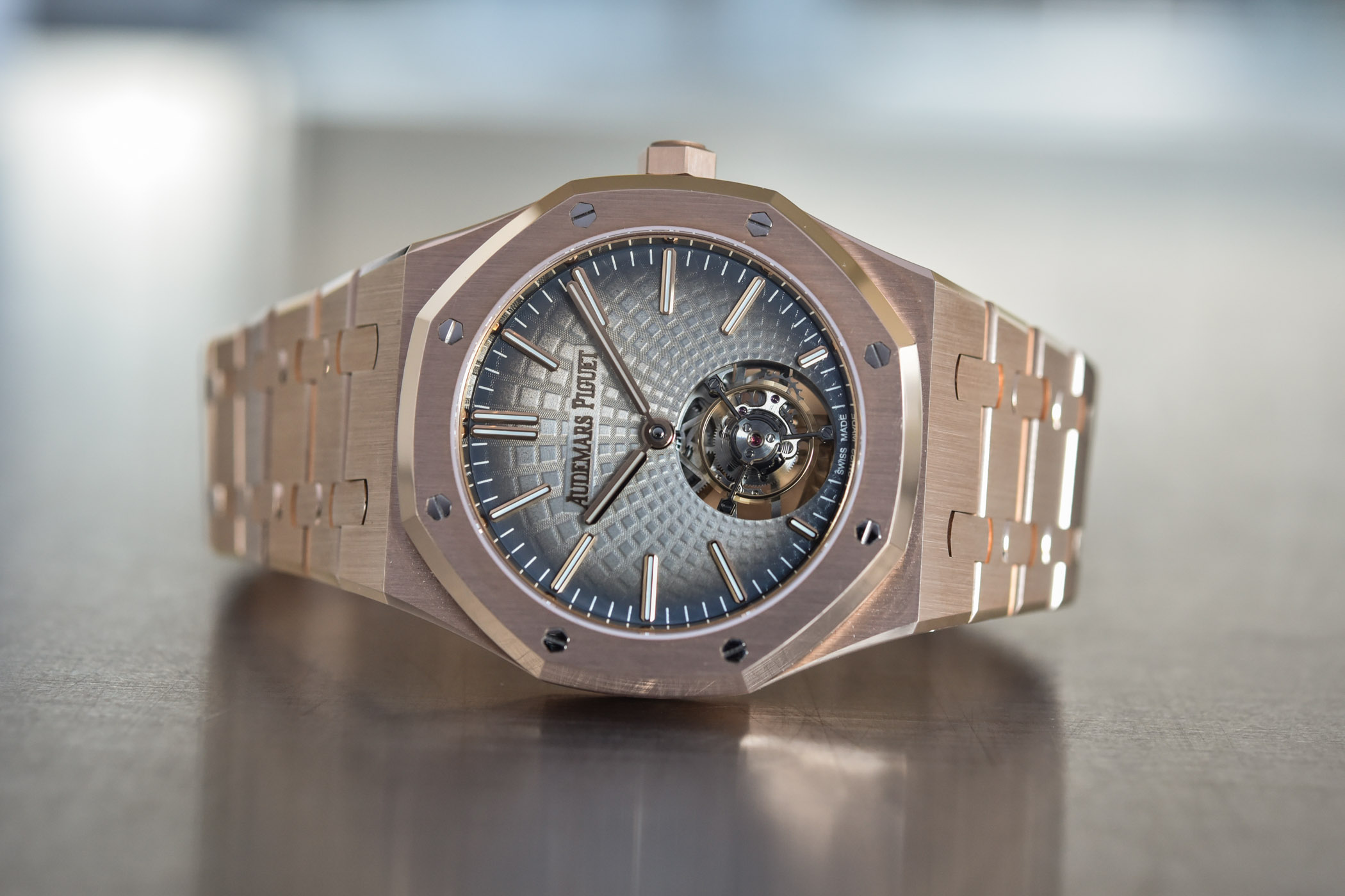 Audemars Piguet Royal Oak Selfwinding Flying Tourbillon Gold 26530OR