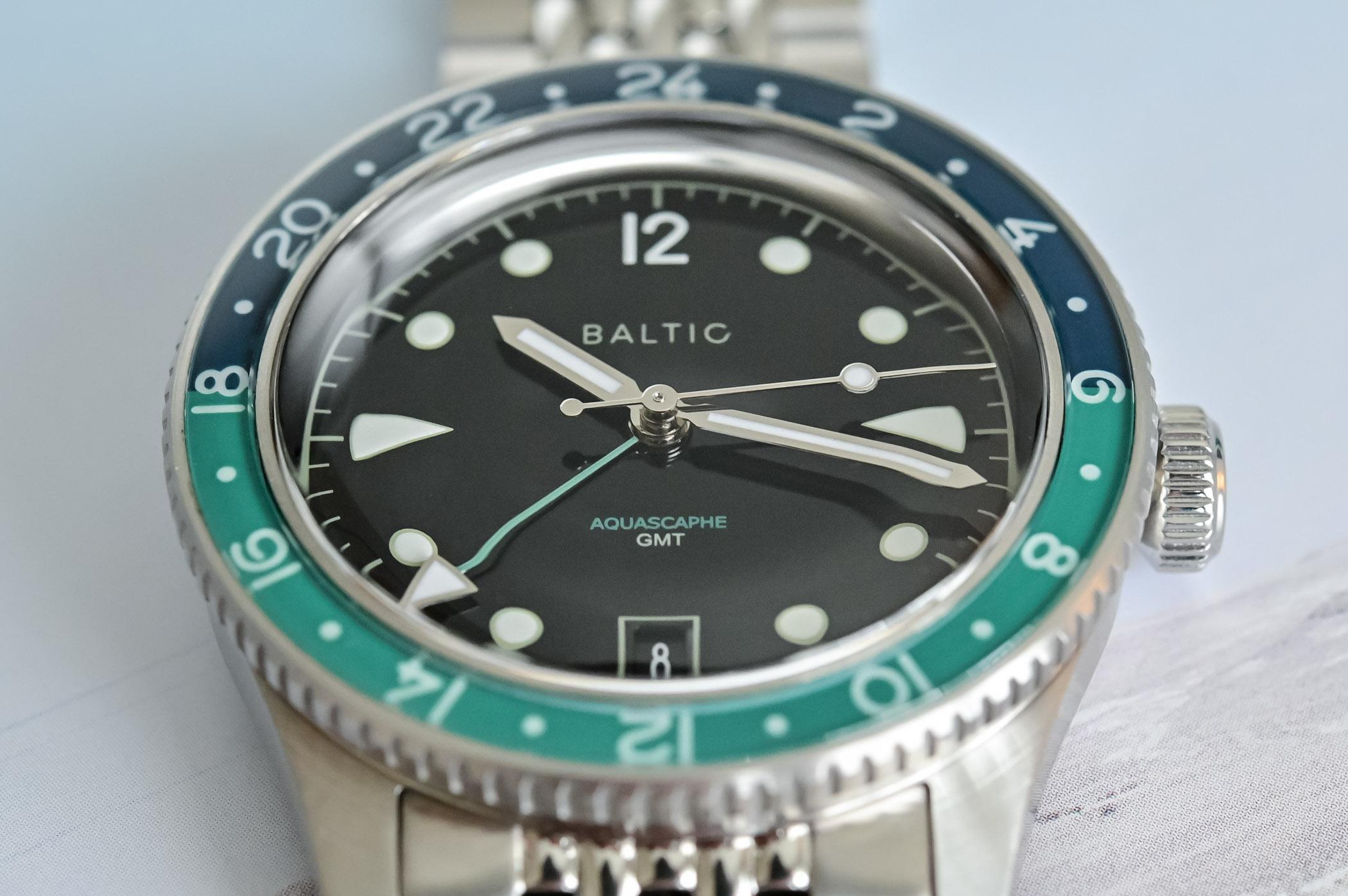 Baltic Aquascaphe GMT - Review - 10