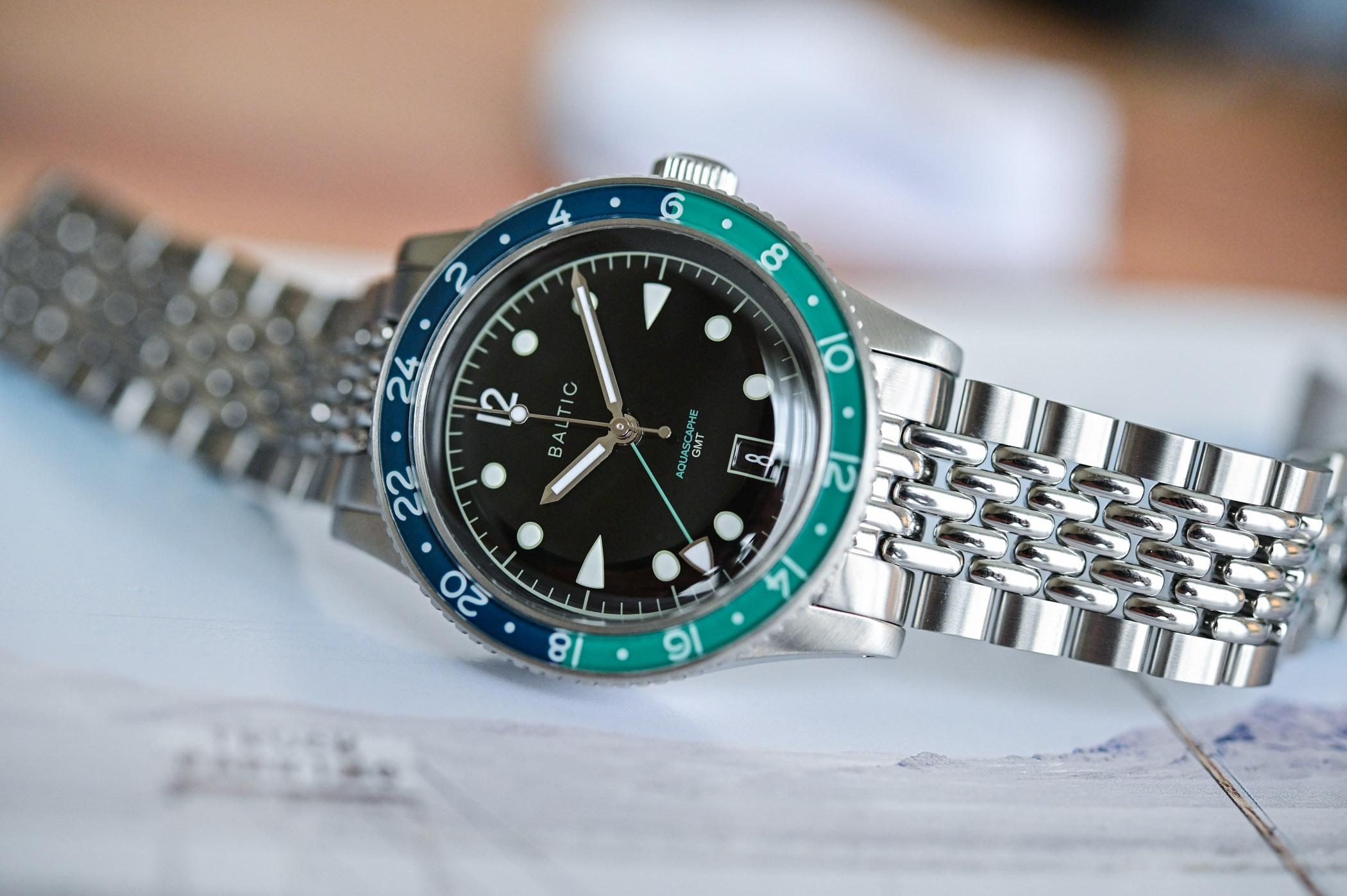 Baltic Aquascaphe GMT - Review - 8