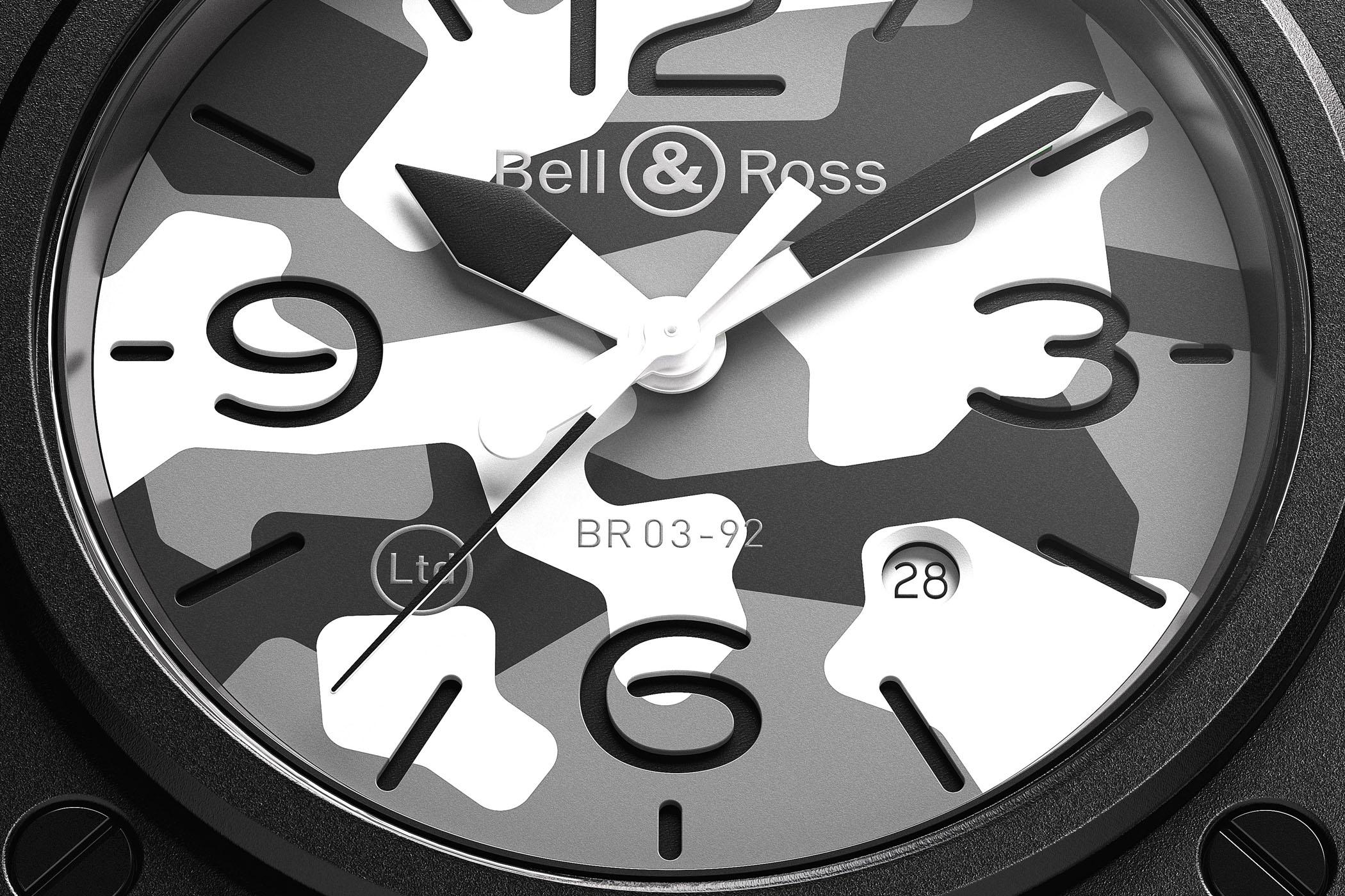 Bell & Ross BR 03-92 White Camo