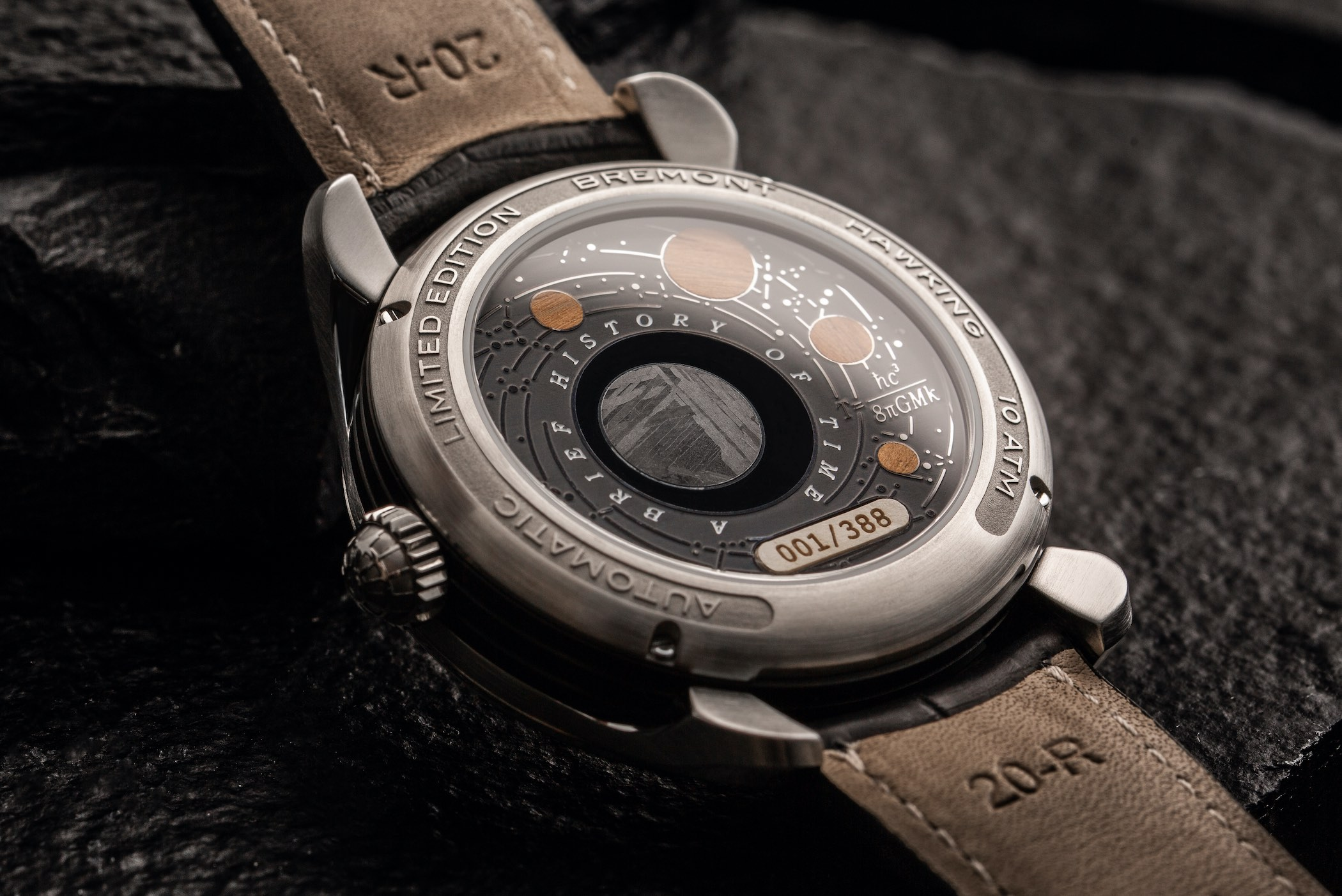 Bremont Hawking limited edition collection