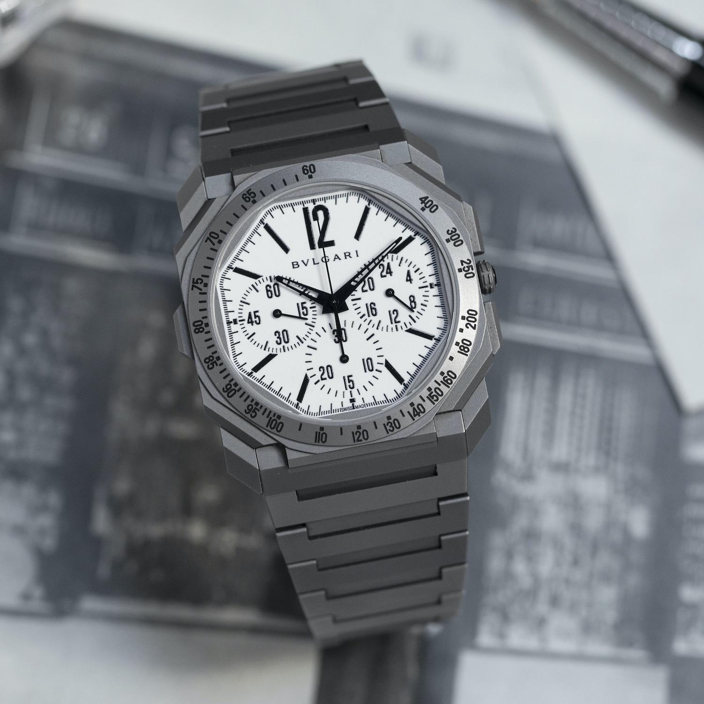 Bvlgari Octo Finissimo Chronograph GMT for Revolution The Rake - 4