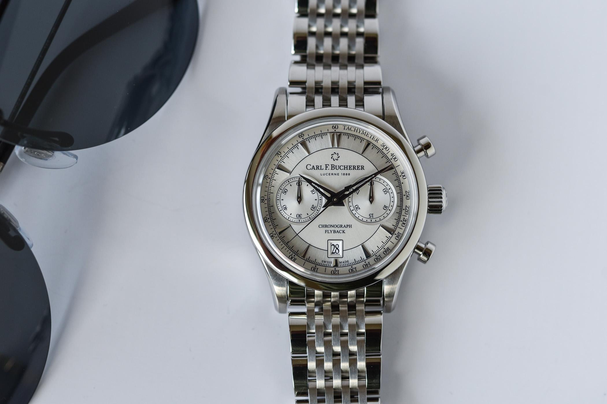 Carl F. Bucherer Manero Flyback Steel Bracelet