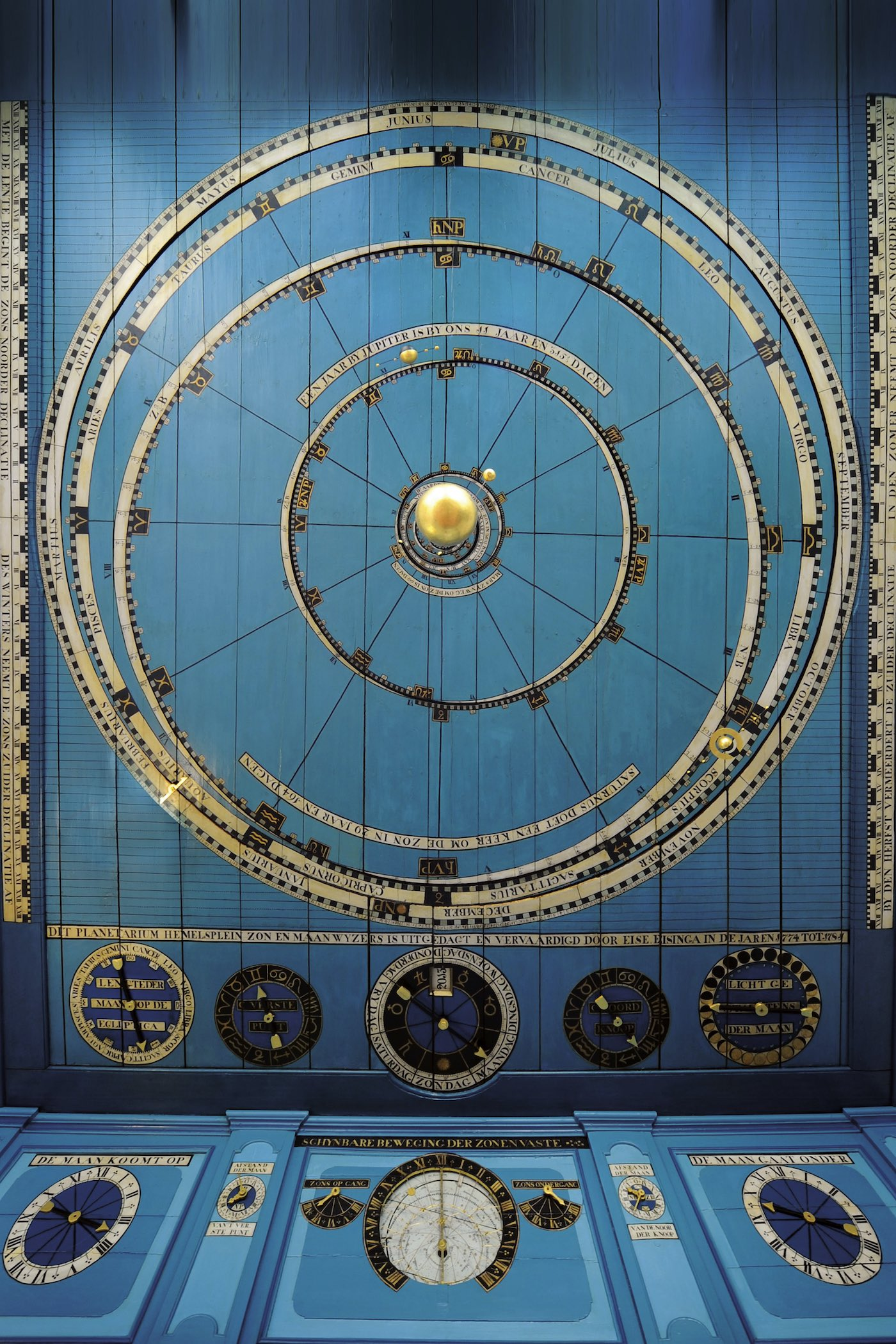Christiaan van der Klaauw Planetarium Eise Eisinga Limited Edition - 2