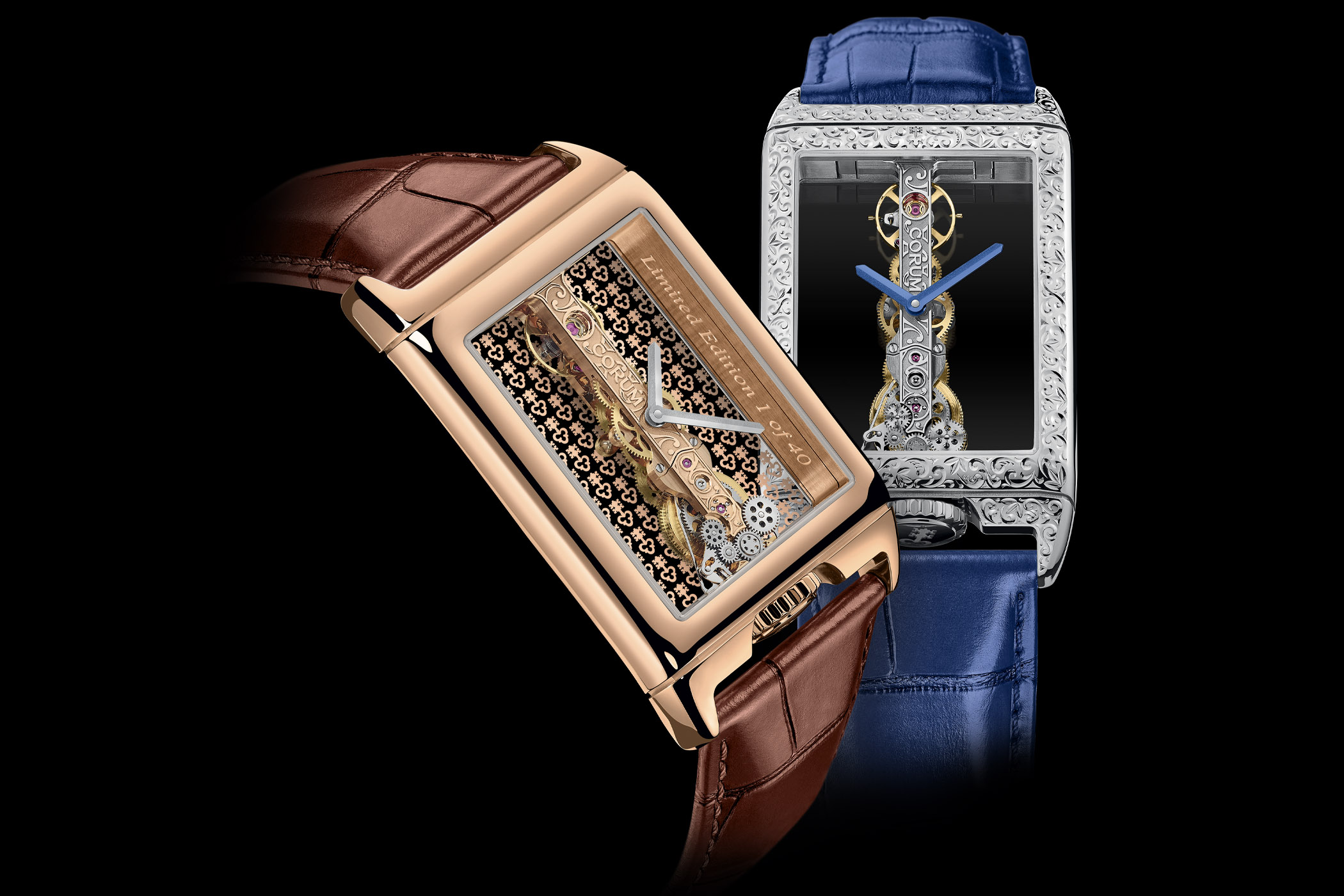 Corum Golden Bridge Rectangle 40th-Anniversary Editions