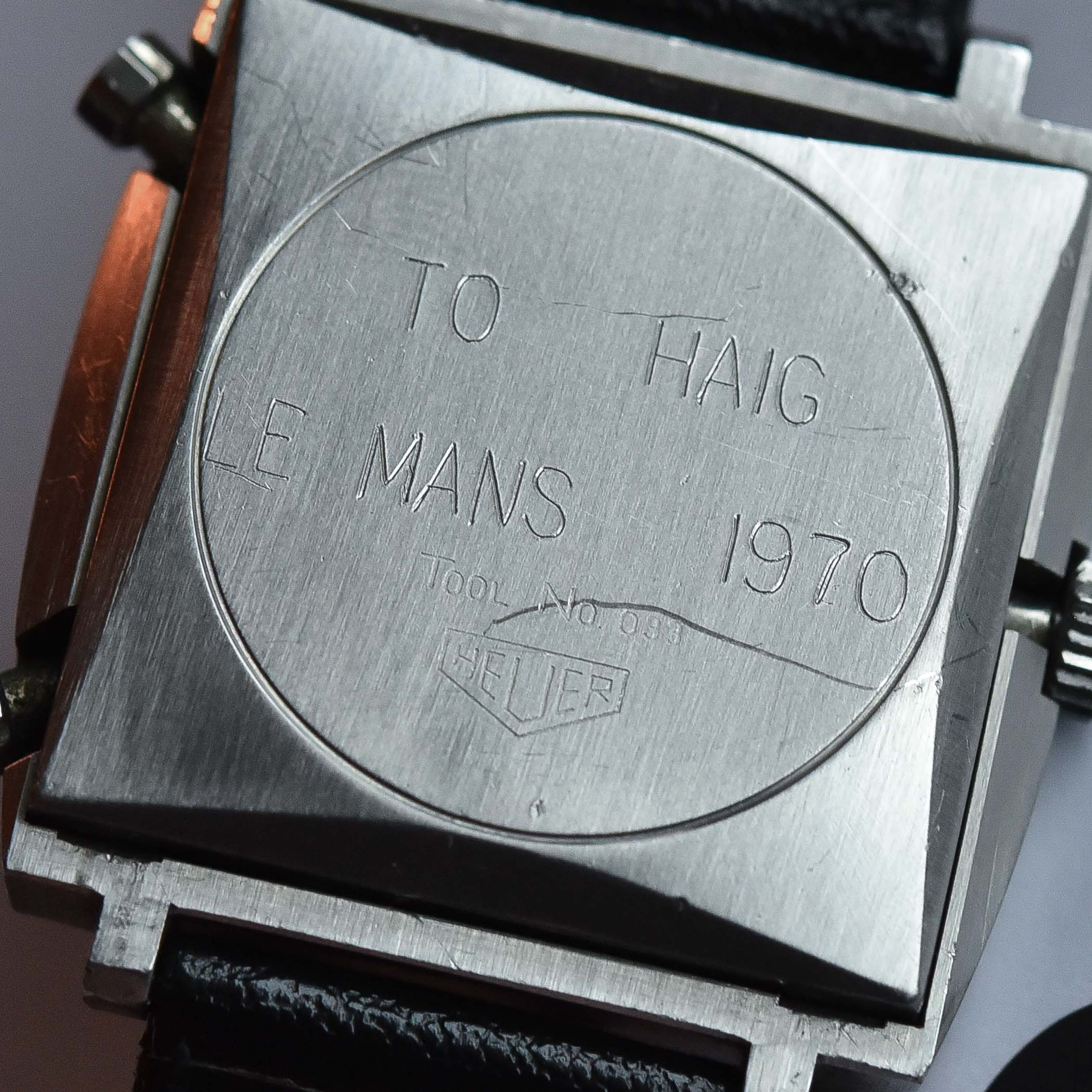 Heuer Monaco 1133B Steve McQueen worn Le Mans Haig Alltounian