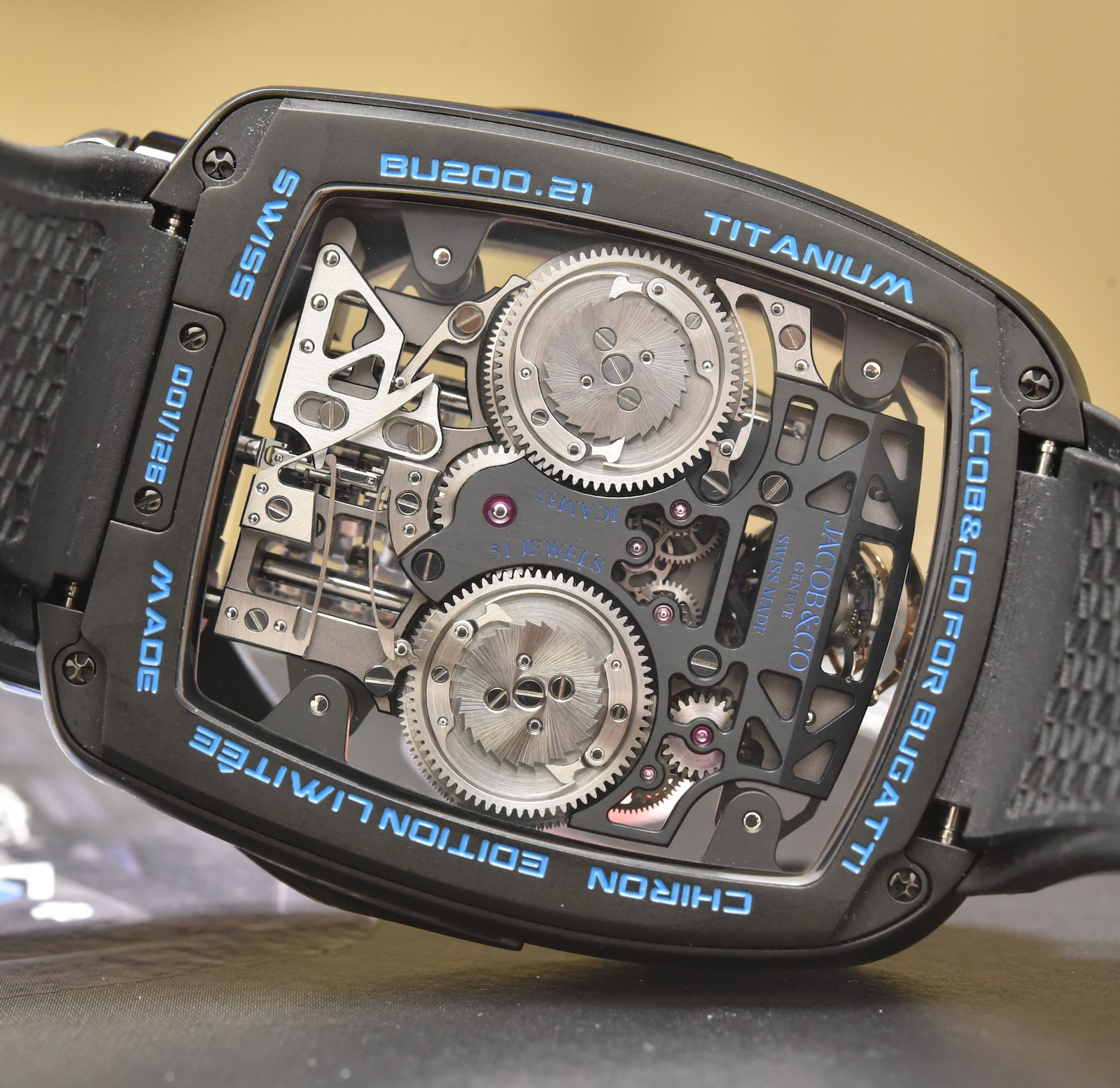 Jacob and co Bugatti Chiron Tourbillon - 2
