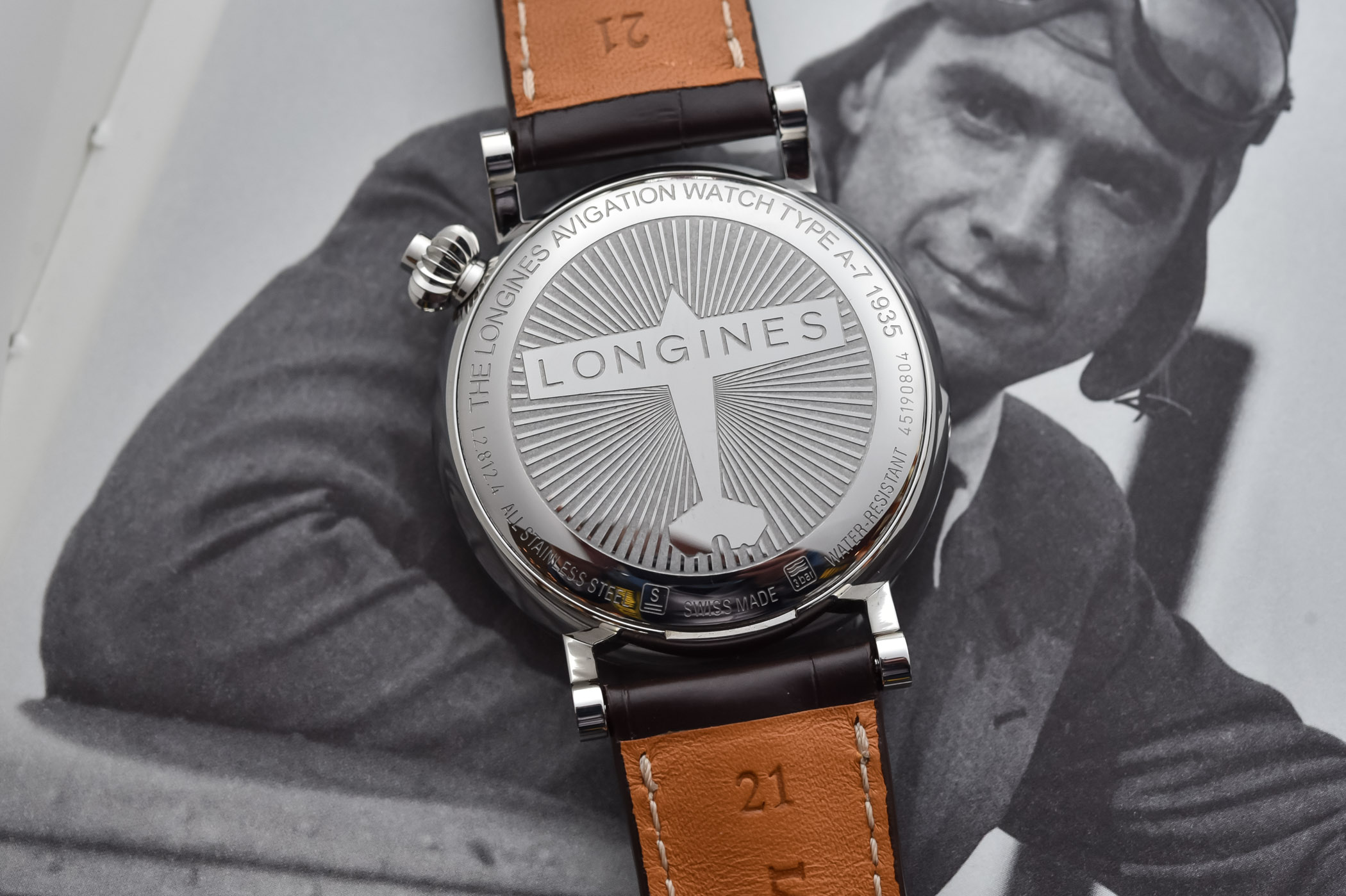 Longines Avigation Watch Type A-7 1935 - 2020 Edition Black Dial
