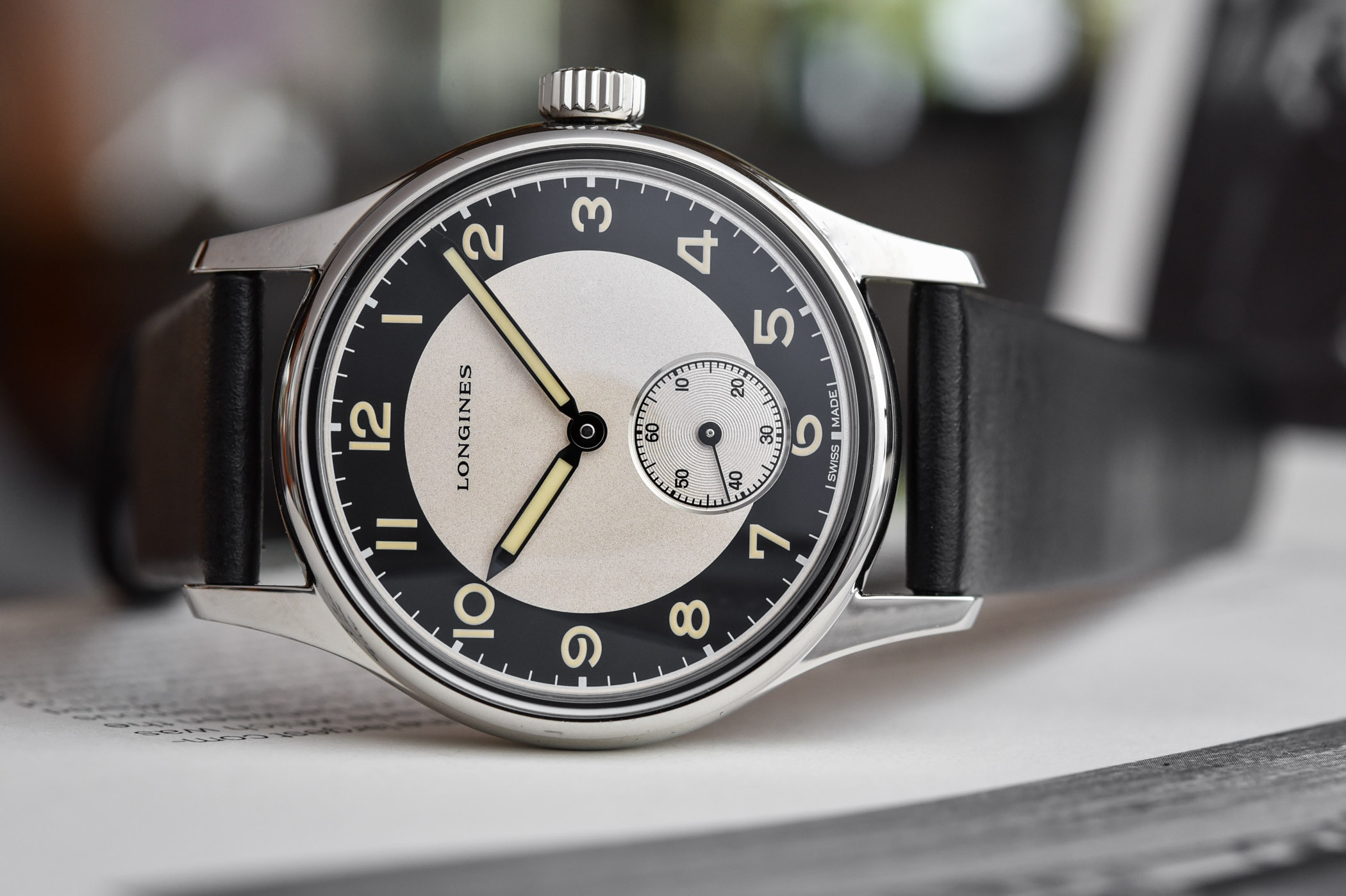 Longines Heritage Classic Tuxedo Small Seconds
