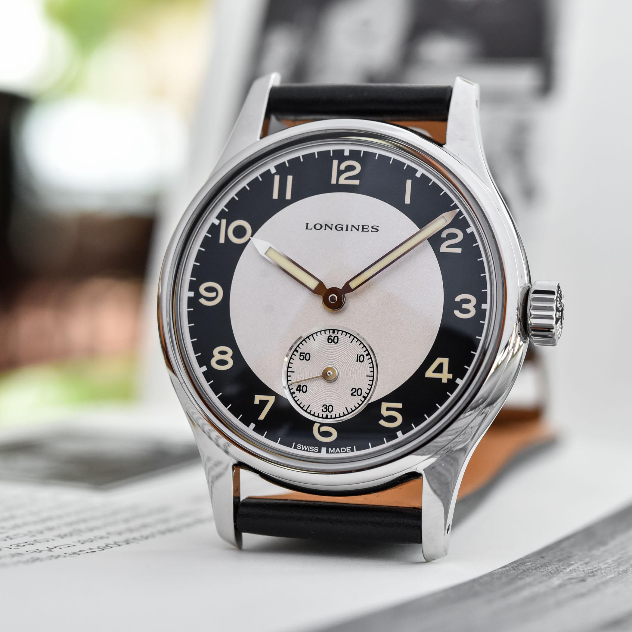 Longines Heritage Classic Tuxedo Small Seconds